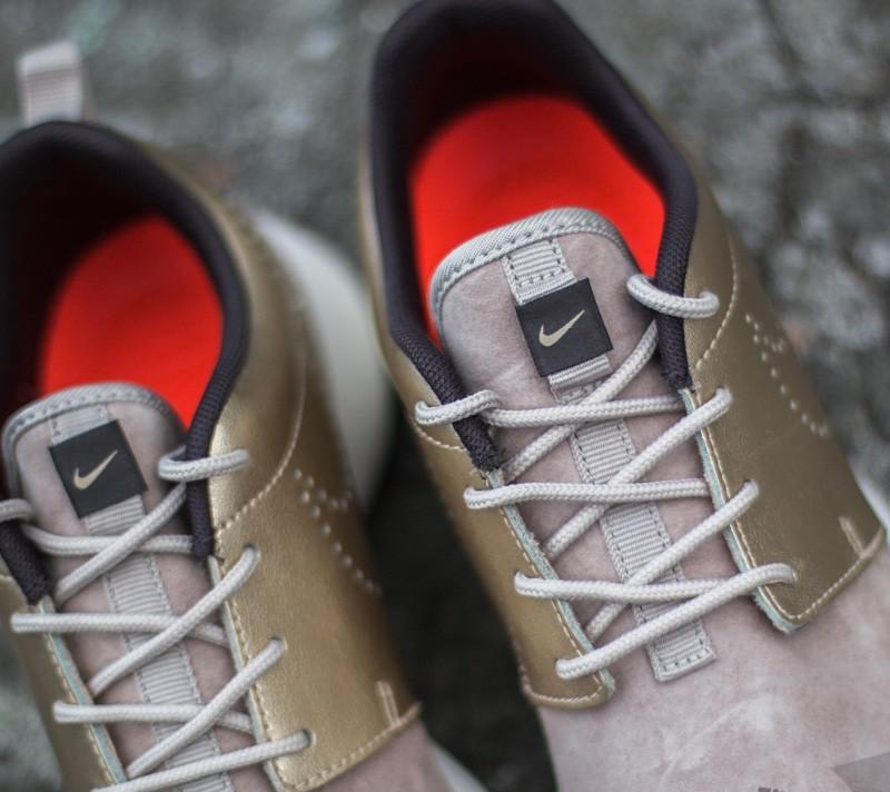 Nike WMNS Air Max 90 PRM Suede StringMetallic Gold Grain