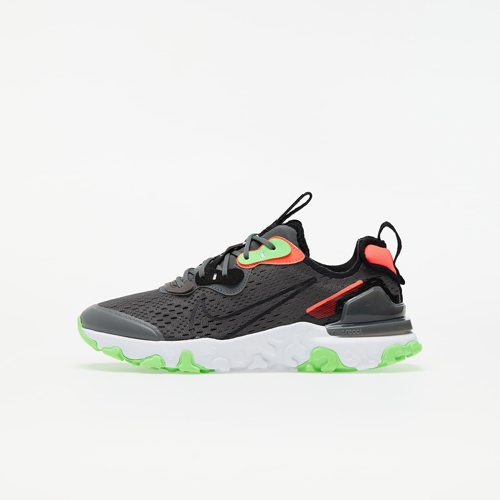 Încălțăminte copii Nike React Vision WW (GS) Iron Grey/ Black-White-Green Strike