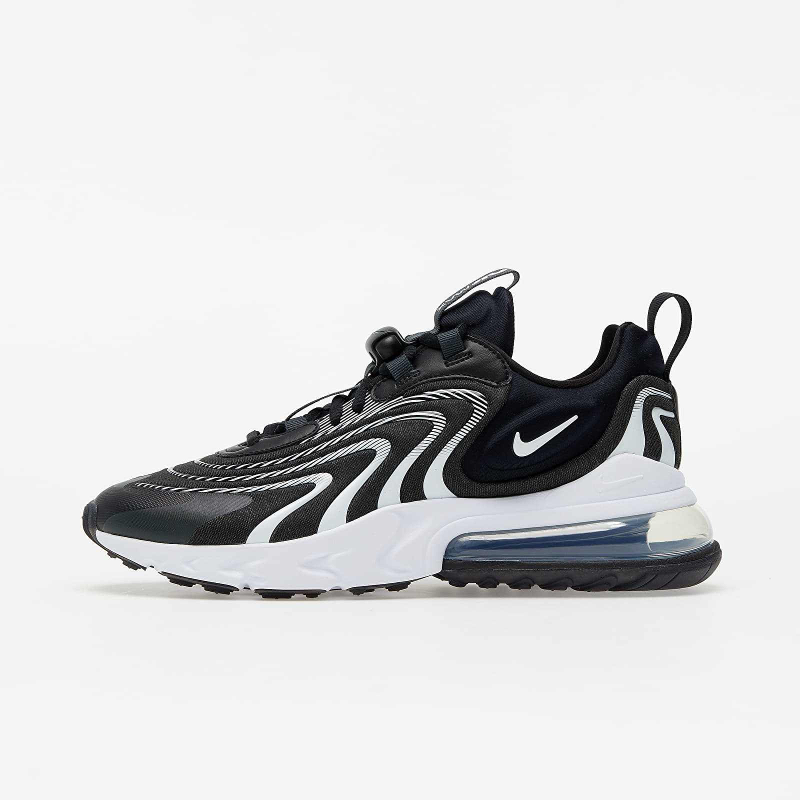 Nike Air Max 270 React ENG Black/ White-Dk Smoke Grey-Wolf Grey EUR 45.5