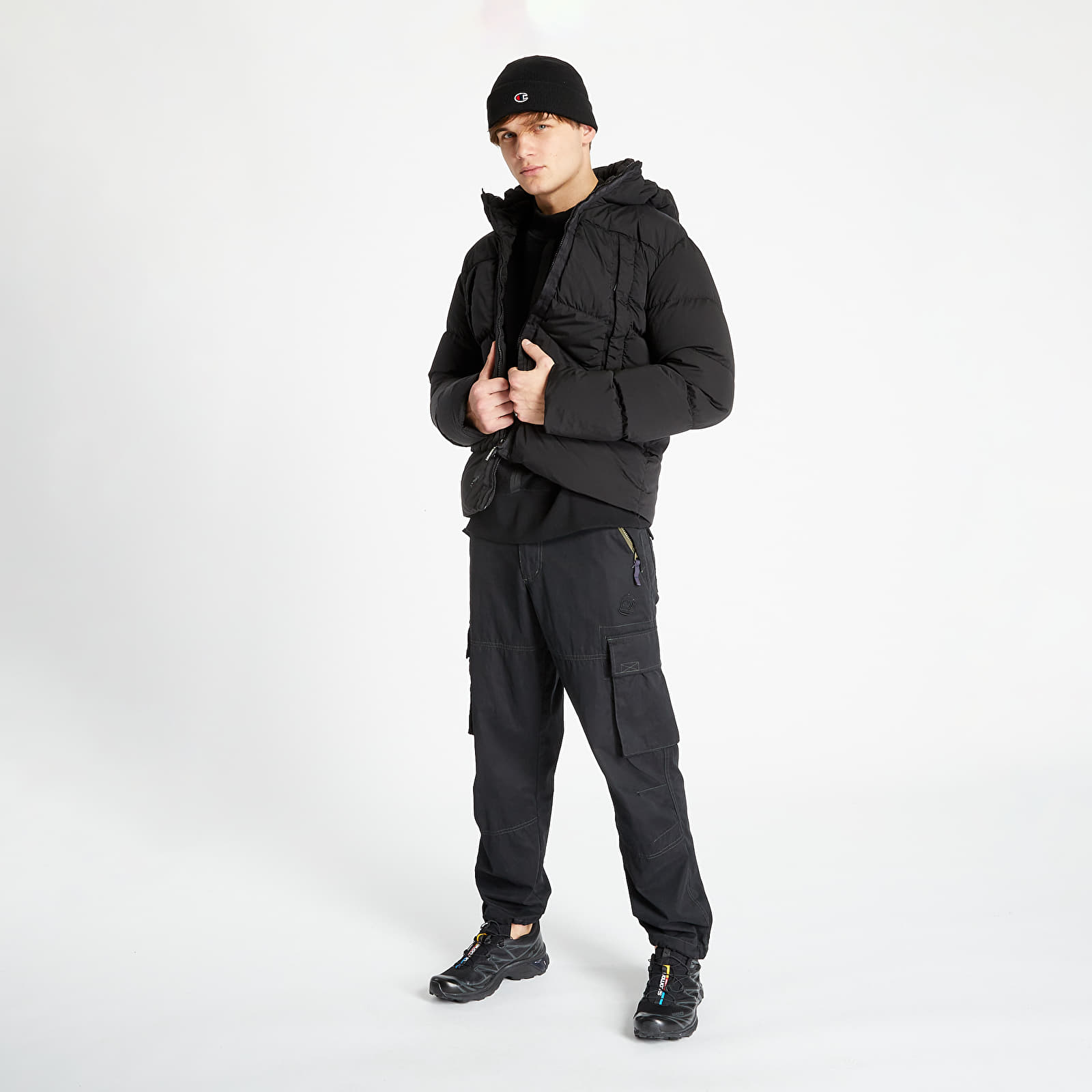 Giacche C.P. Company Nycra Medium Jacket Black