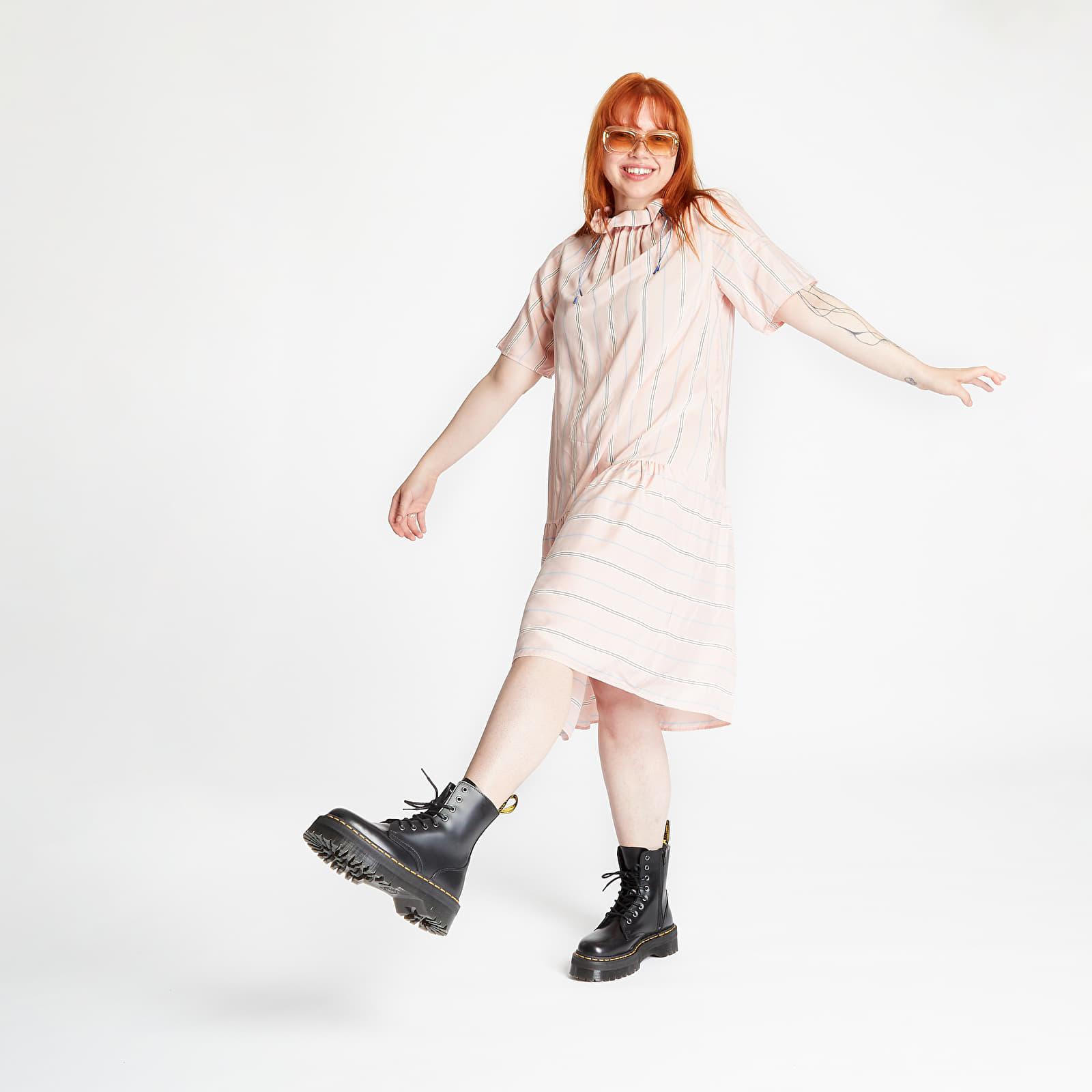 Haljine WOOD WOOD Delphine Dress Light Rose Stripe