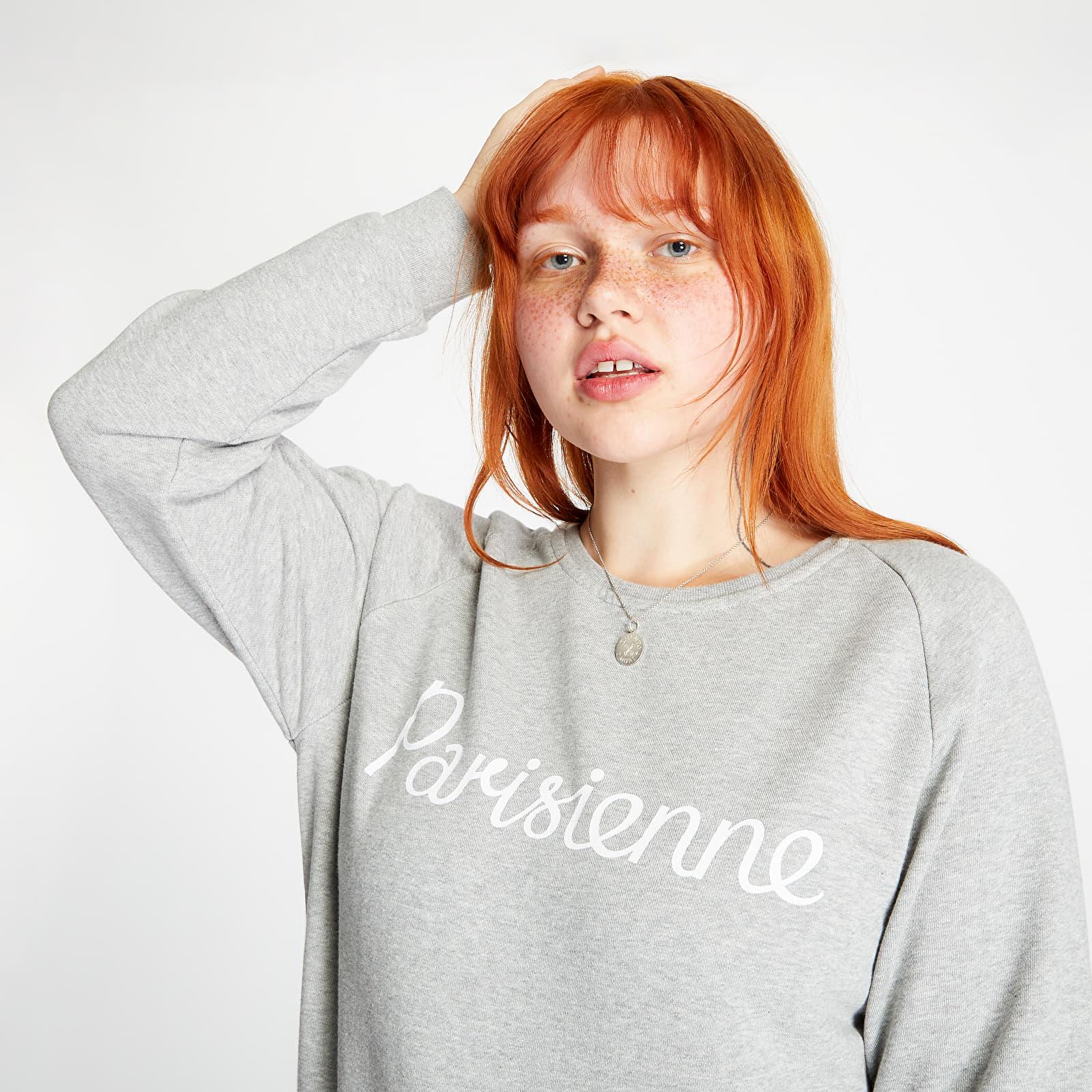 Φούτερ MAISON KITSUNÉ Parisienne Sweatshirt Grey Melange