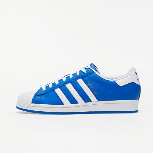 adidas Superstar Blue/ Ftw White/ Gold Metalic   Footshop