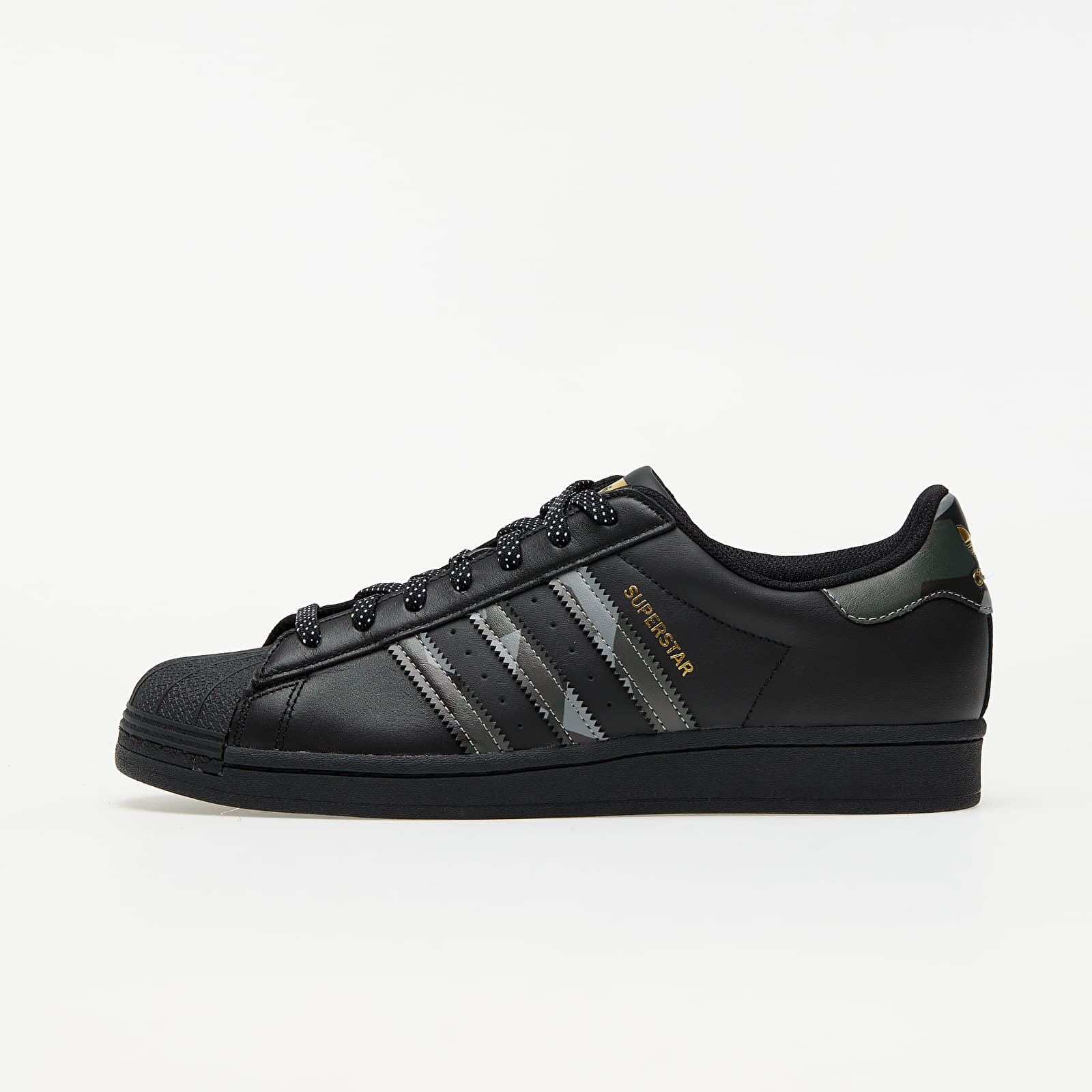 adidas Superstar Core Black/ Core Black/ Gold Metalic EUR 42