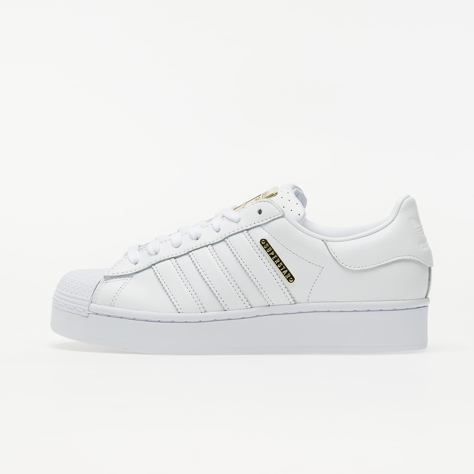 adidas Superstar Bold W Ftw White/ Gold Metalic/ Core Black EUR 39 1/3