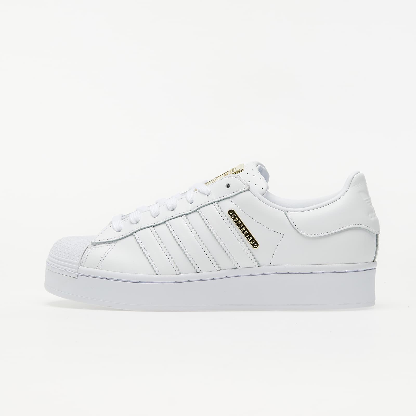 adidas Superstar Bold W Ftw White/ Gold Metalic/ Core Black   Footshop