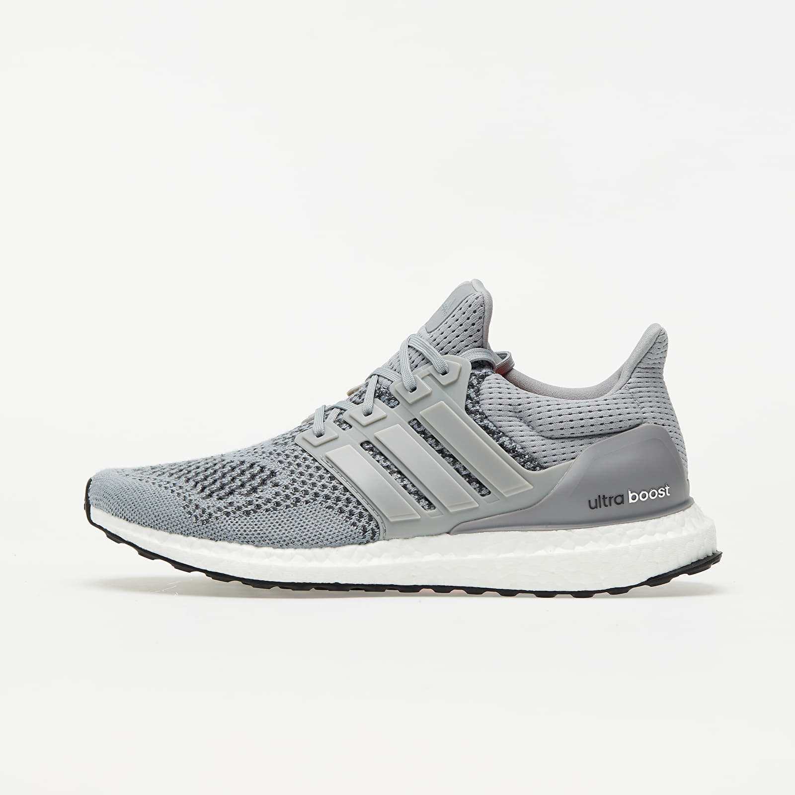 Chaussures et baskets homme adidas UltraBOOST M Grey/ Silver Metalic/ Solar Red