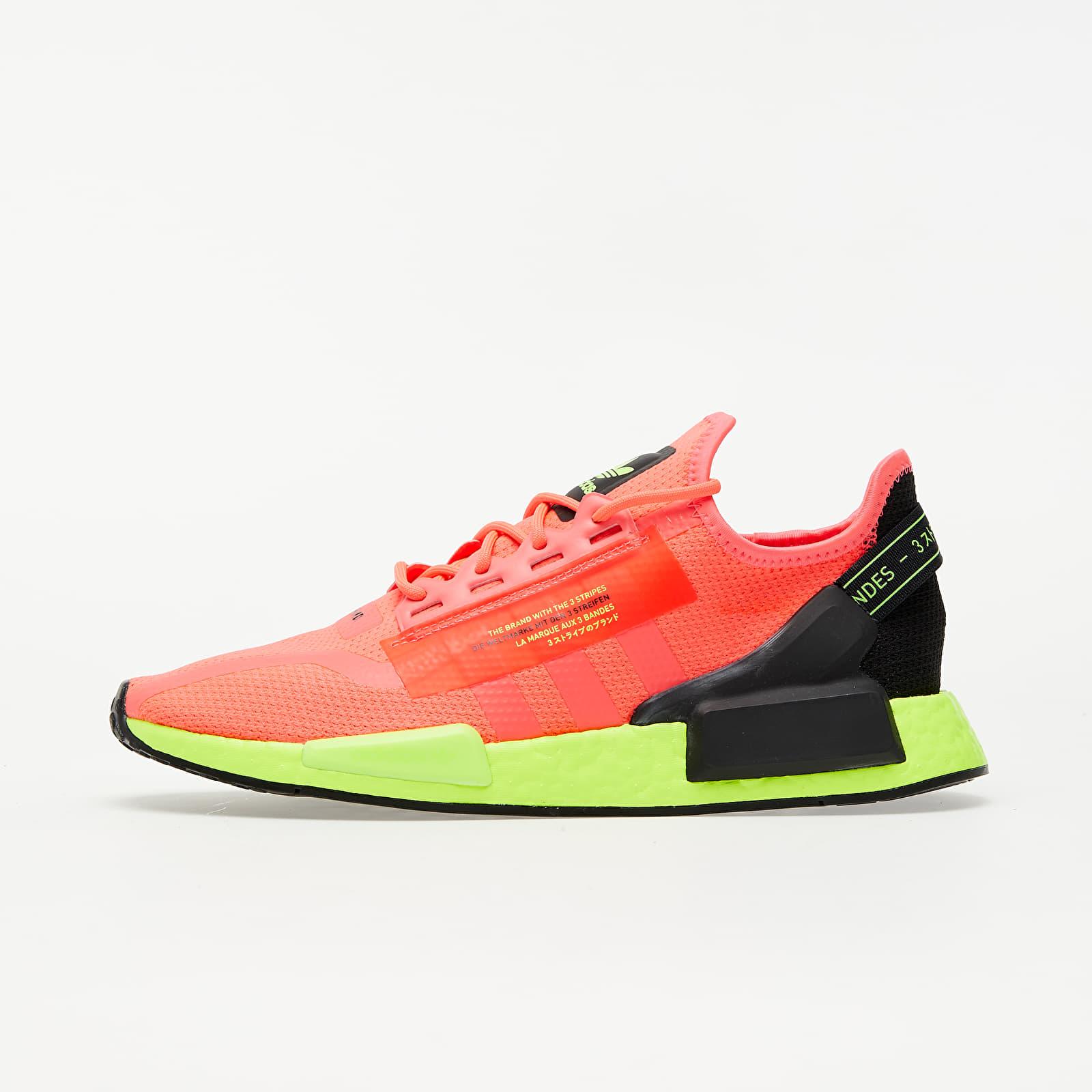 Pánske tenisky a topánky adidas NMD_R1.V2 Signature Pink/ Signature Pink/ Signature Green