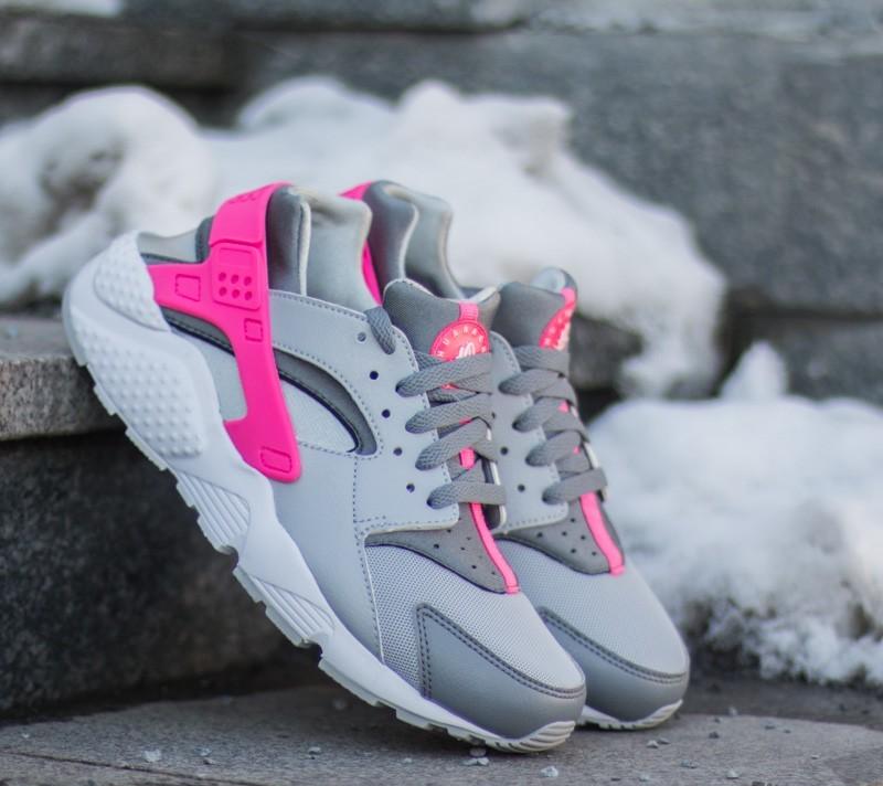 nike huarache grey and pink Shop