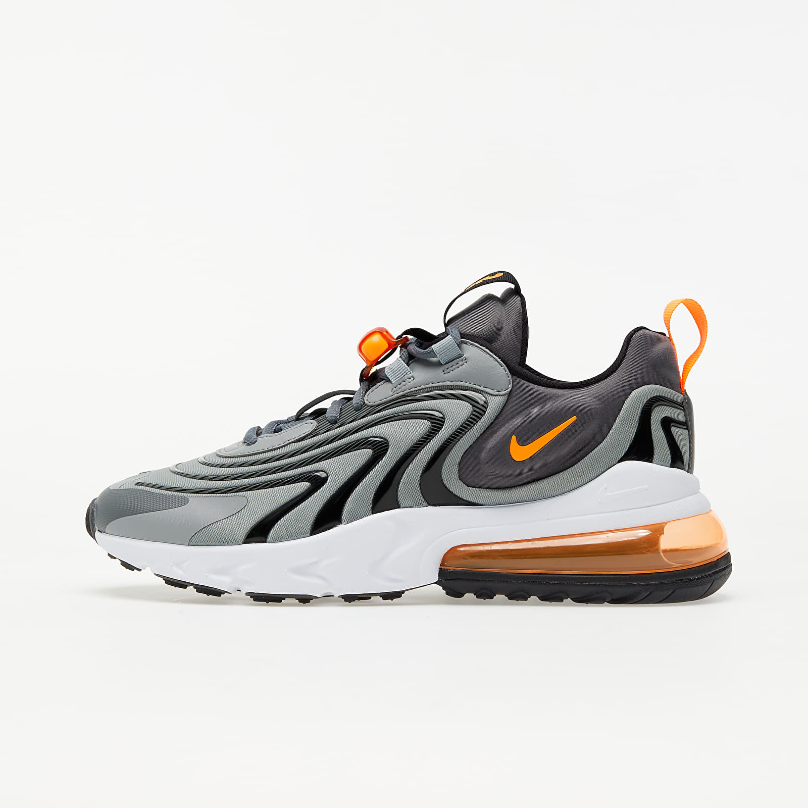 Pánske tenisky a topánky Nike Air Max 270 React ENG Iron Grey/ Total Orange-Particle Grey