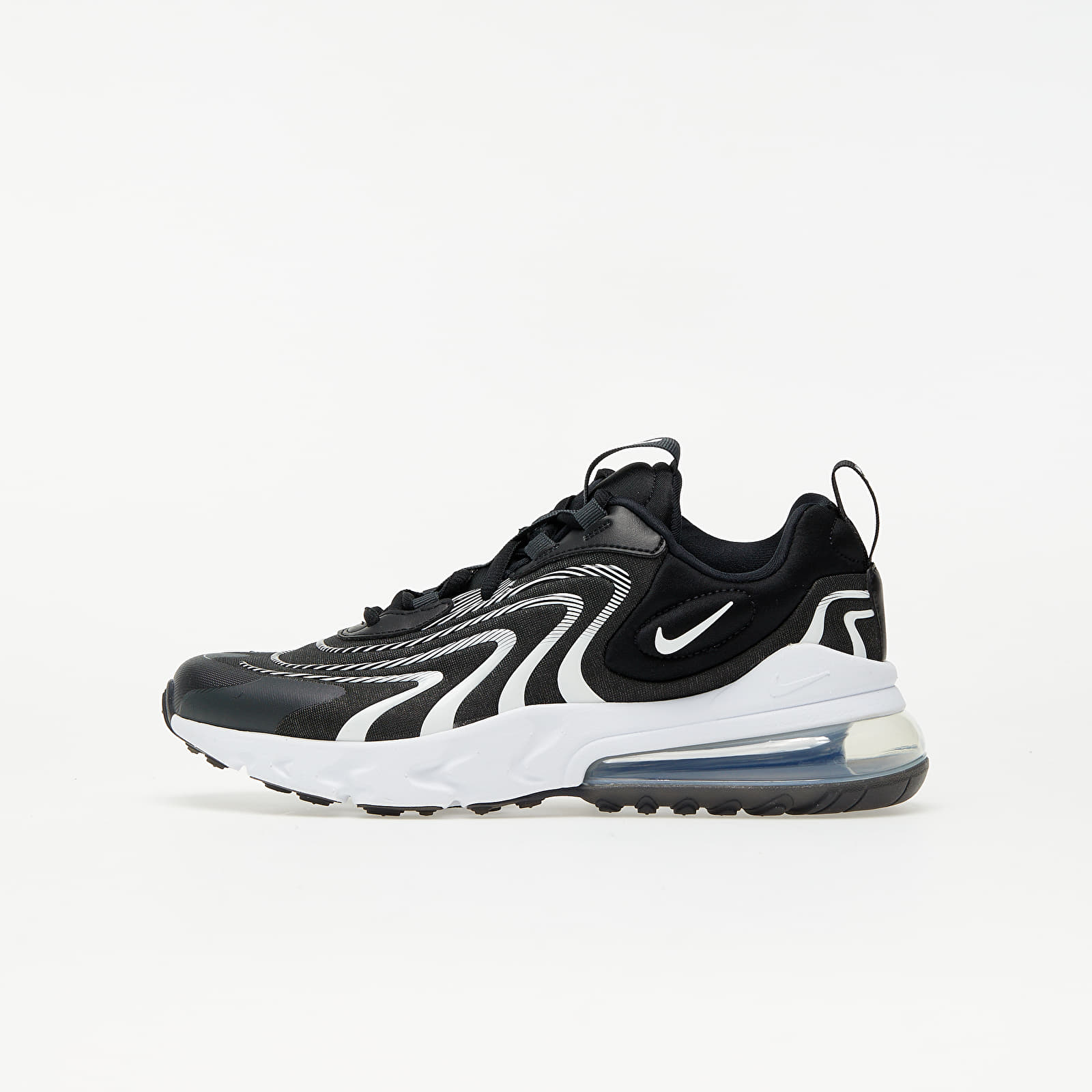 Nike Air Max 270 React ENG (GS) Black/ White-Dk Smoke Grey-Wolf Grey EUR 37.5