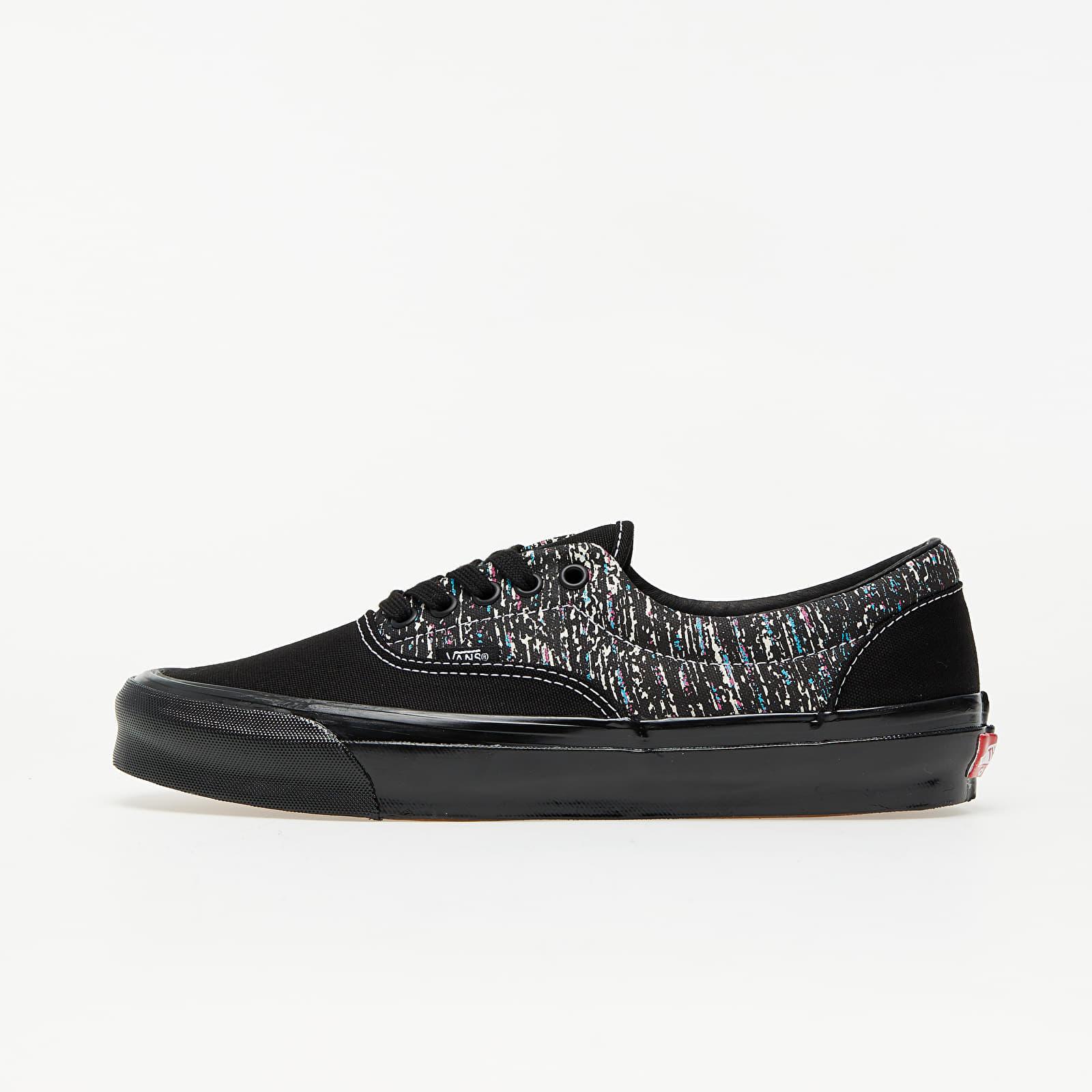 Men's shoes Vans OG Era LX (OG Static Print) Black/ Black