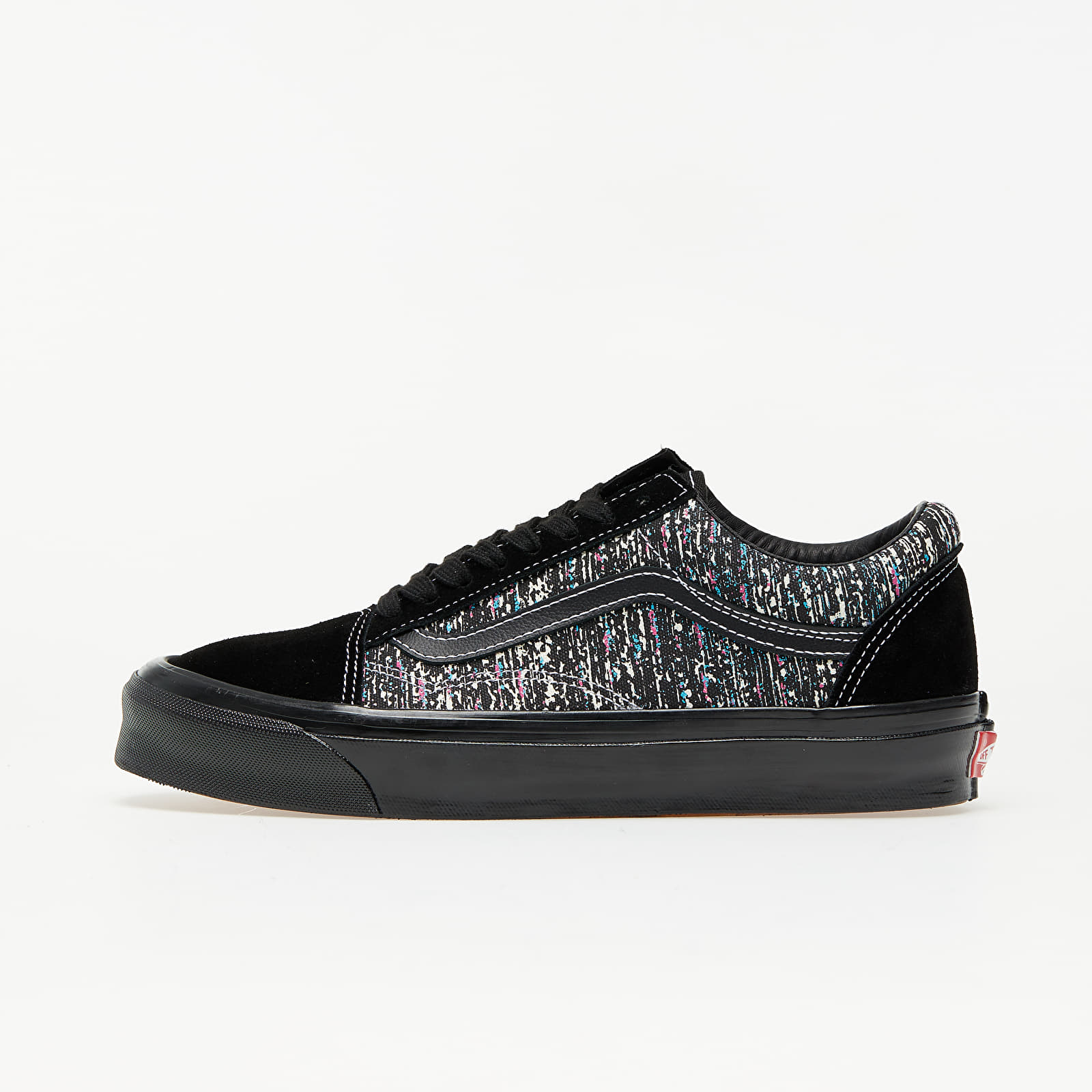 Ανδρικά παπούτσια Vans OG Old Skool LX (OG Static Print) Black/ Black