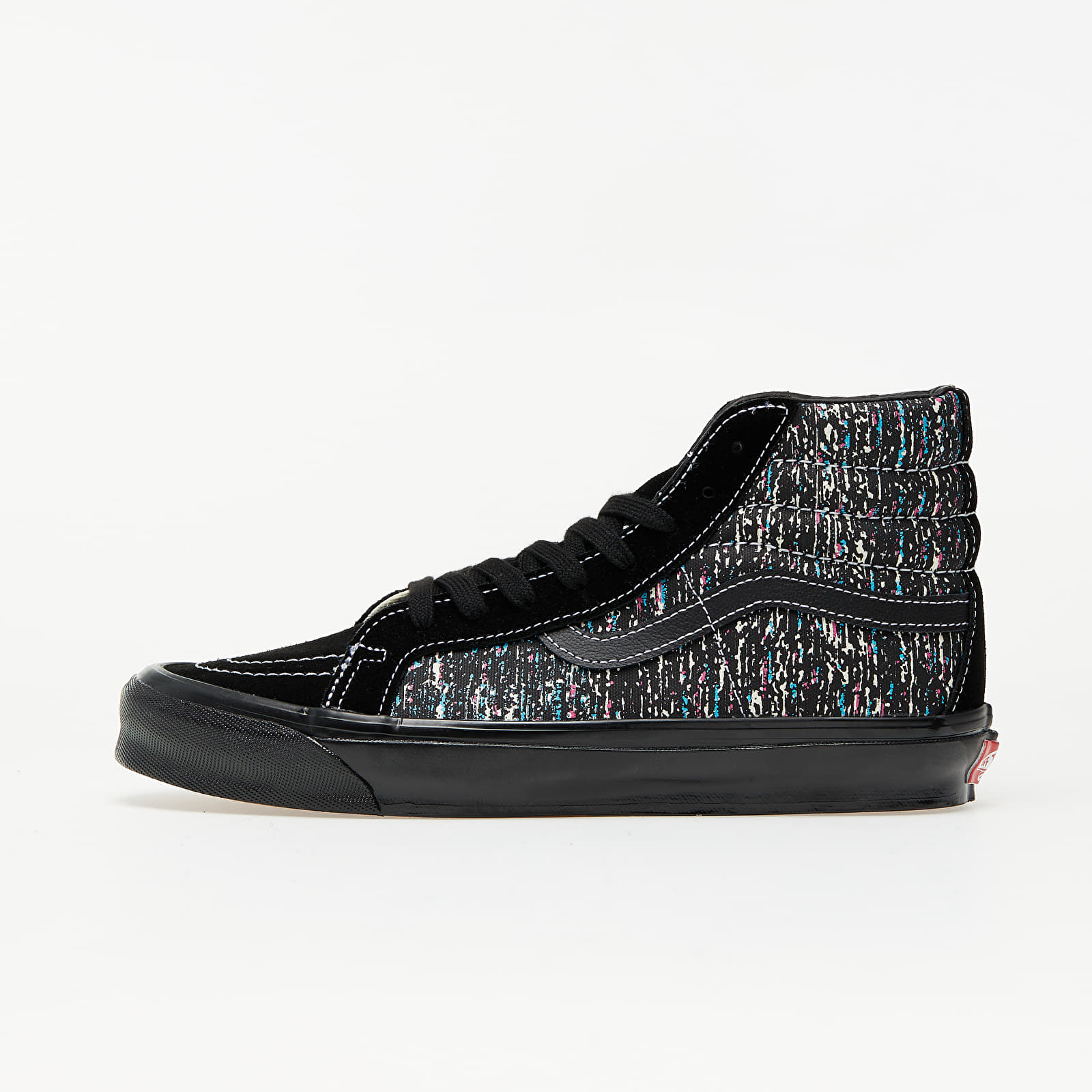 Vans Vault OG Sk8-Hi LX (OG Static Print) Black/ Black EUR 46