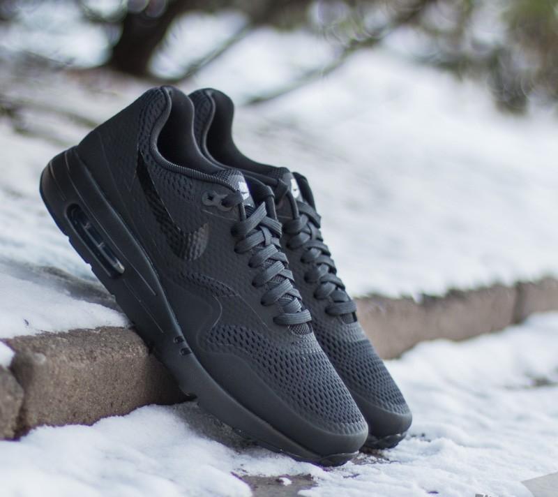 Nike Air Max 1 Ultra Essential BlackBlack Black | Footshop