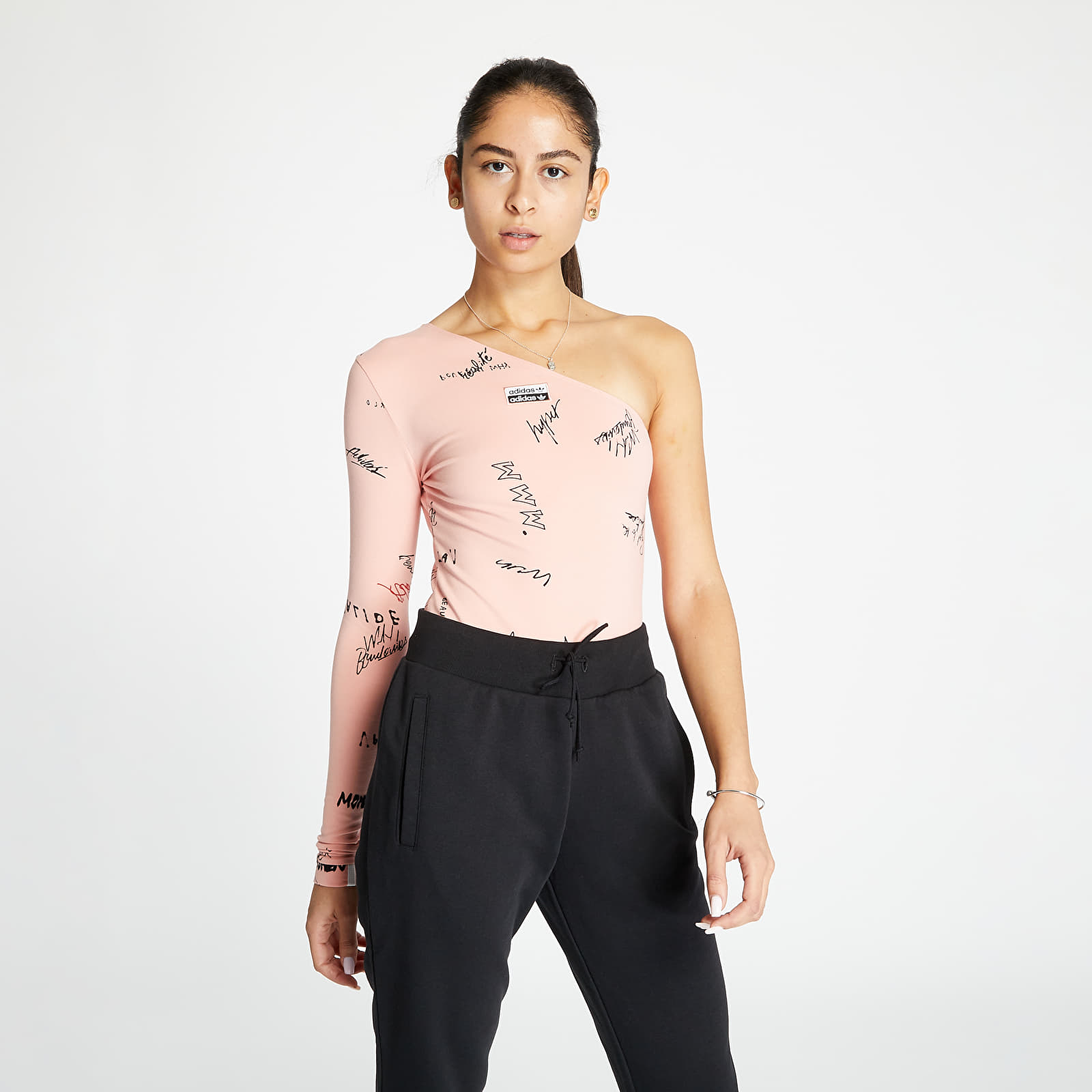 T-shirts adidas Body Trace Pink/ Multco
