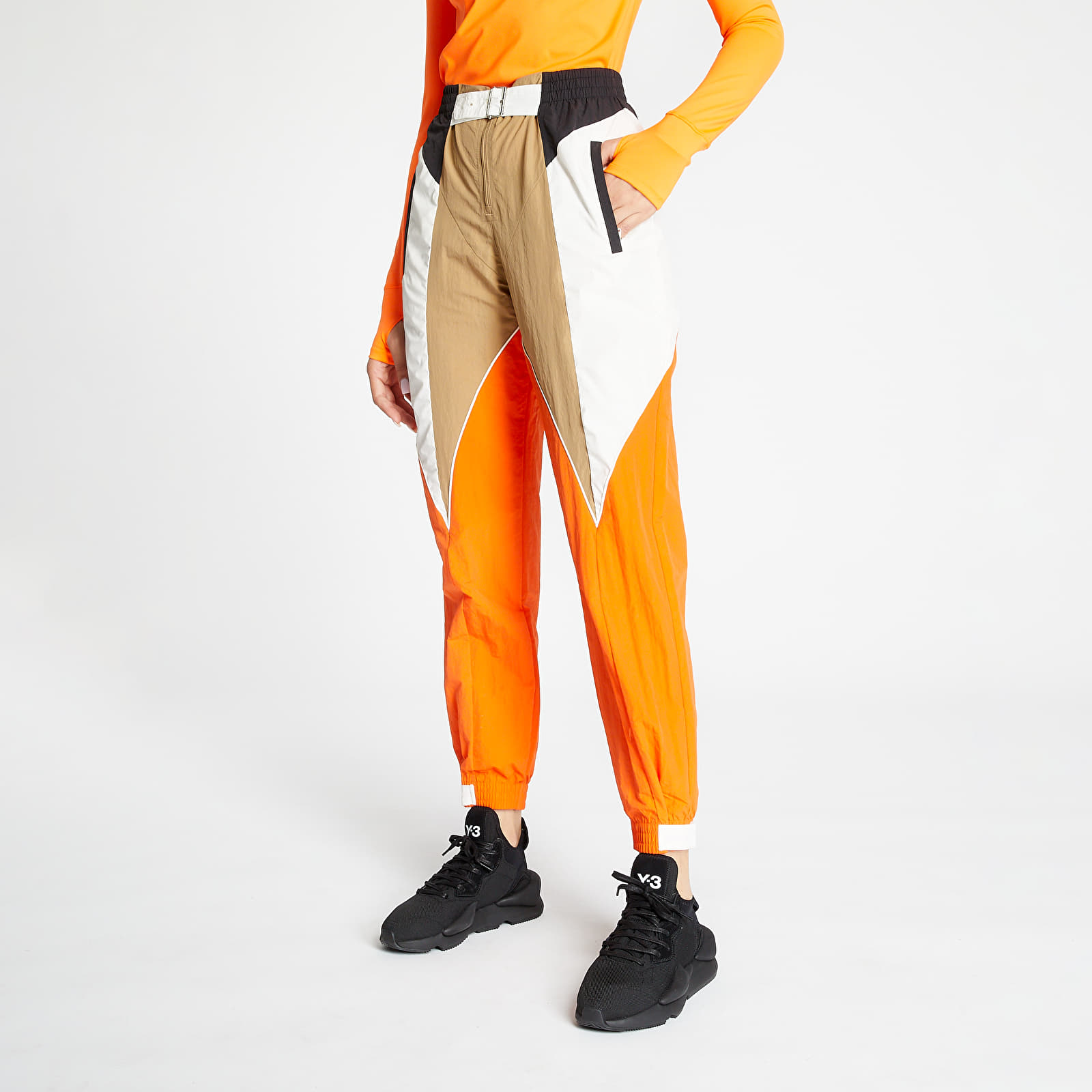 adidas Pants Chalk White/ Energy Orange/ Cardboard