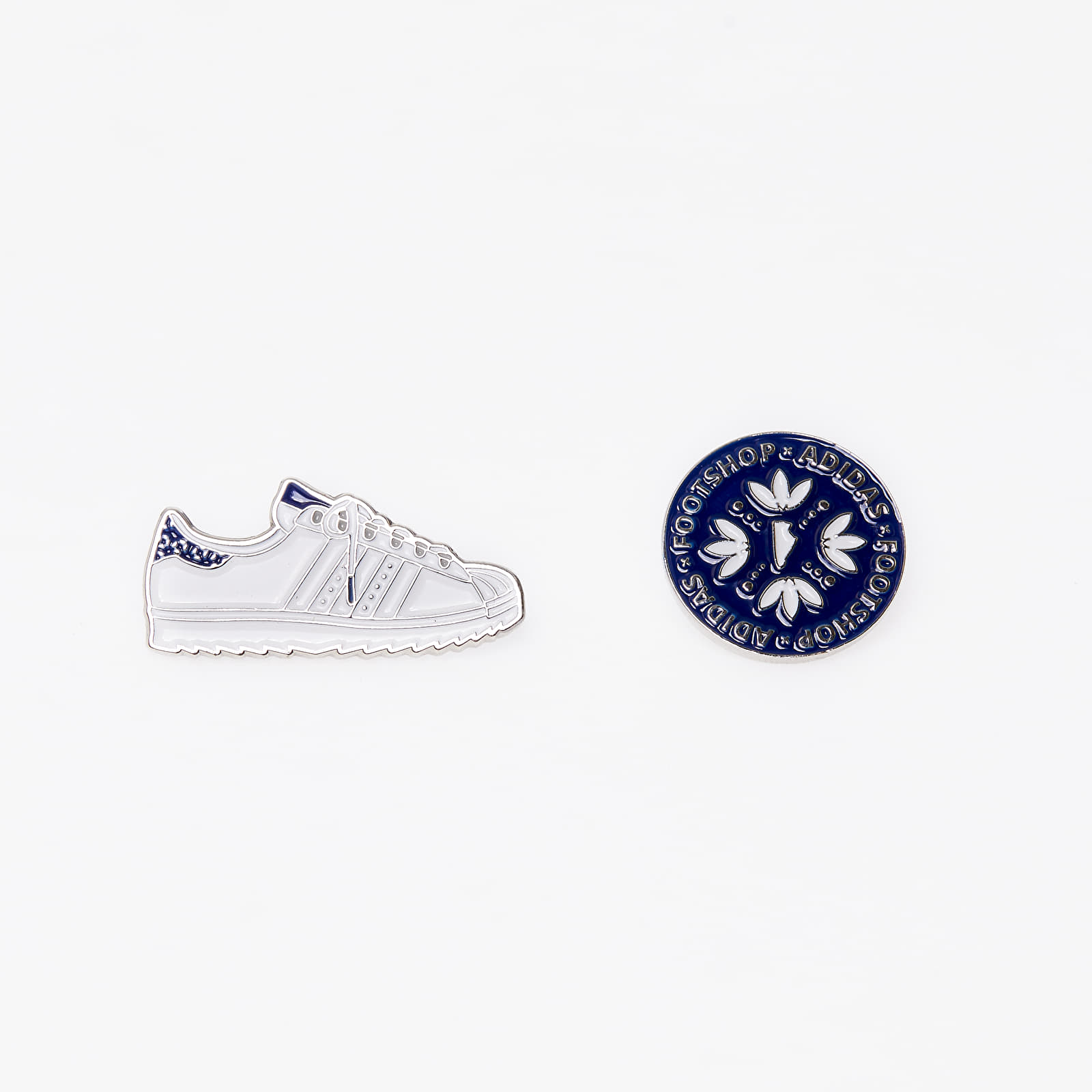 Модни аксесоари Footshop x adidas Pins White/ Blue