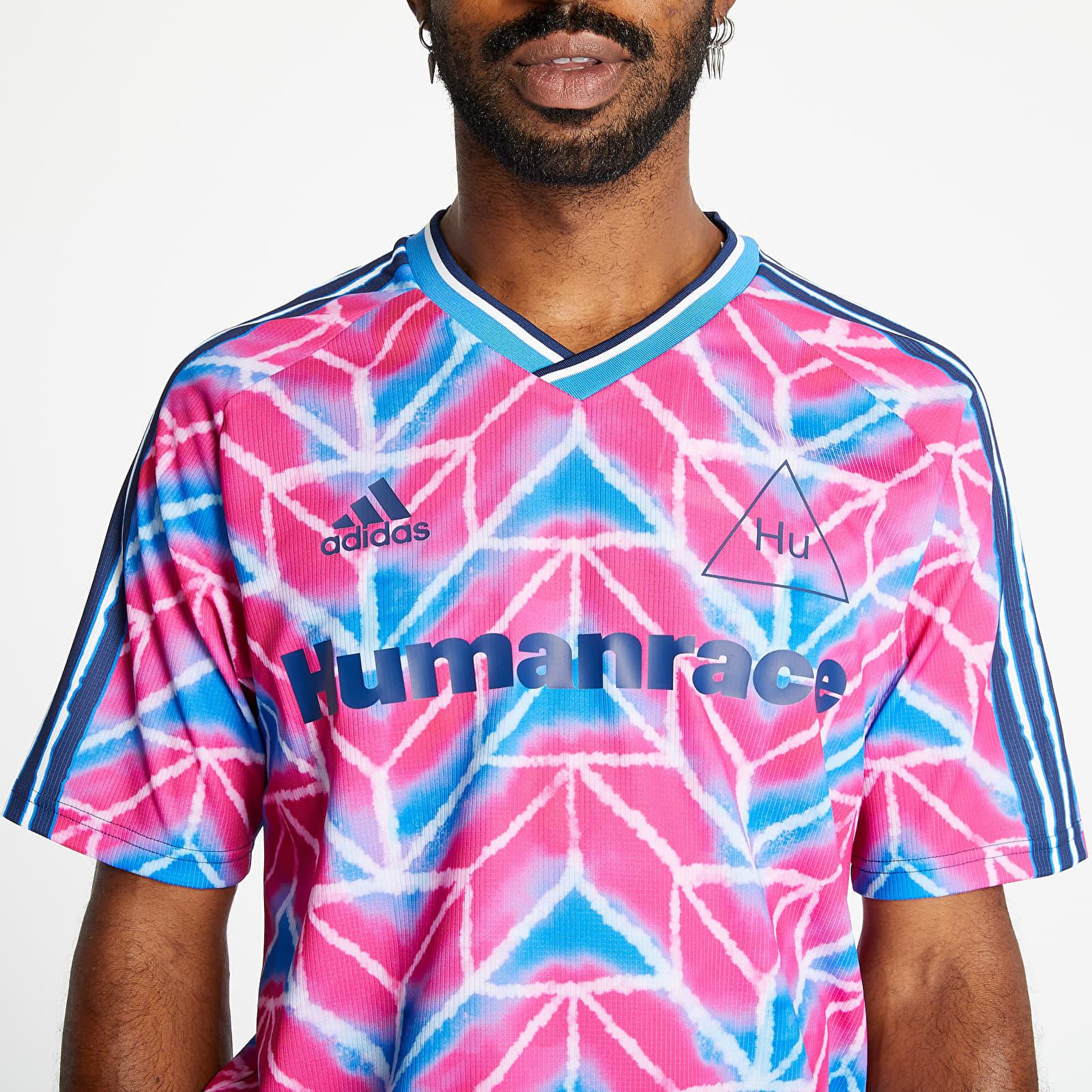 T-shirts adidas Human Race Jersey Real Magenta/ True Blue