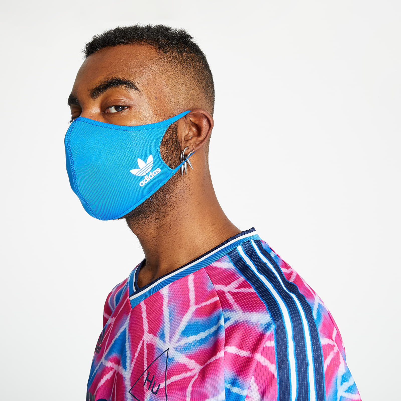 Doplňky adidas Face Cover Large 3-Pack Bluebird