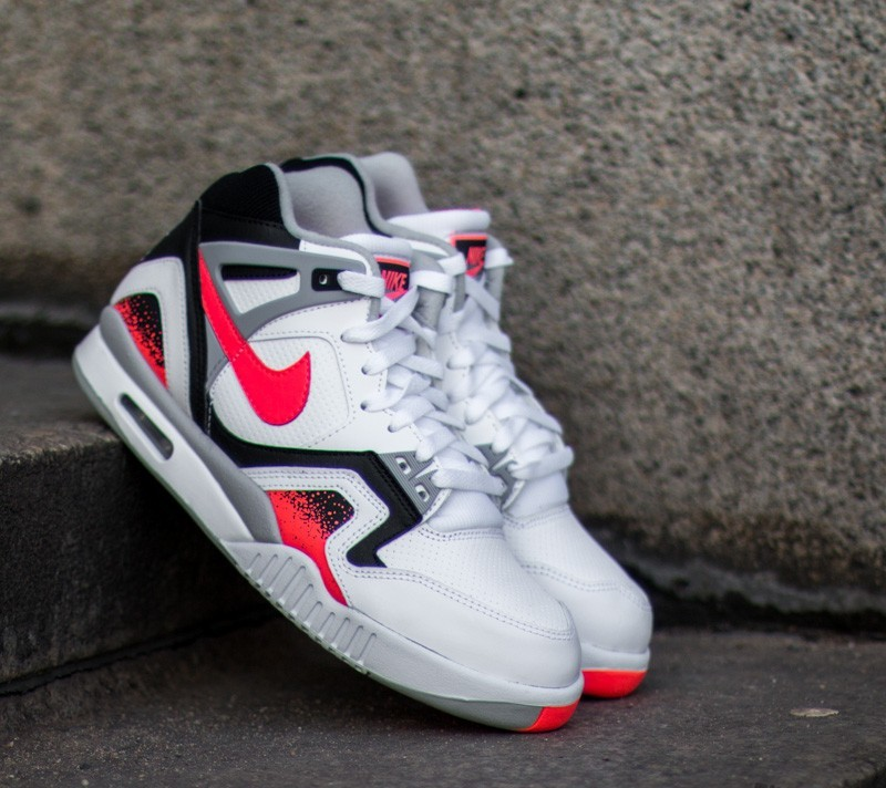 Nike Air Tech Challenge II White  Hot Lava-Black-Flat Silver  39f94cd96
