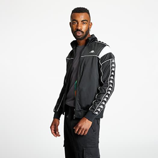 calitate produs nou vândut în toată lumea Sweatshirts Kappa 222 Banda Merez Slim Jacket Black   Footshop