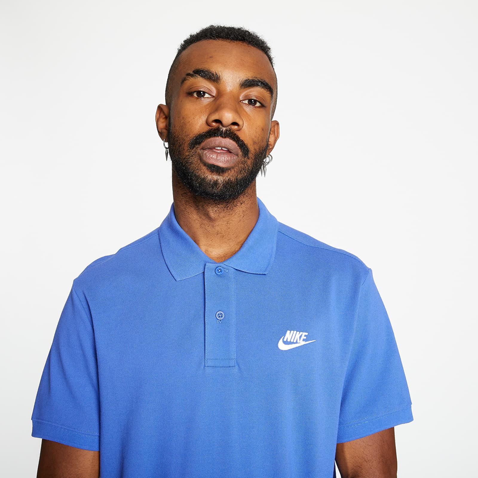 Nike Sportswear Polo Tee Astronomy Blue/ White S