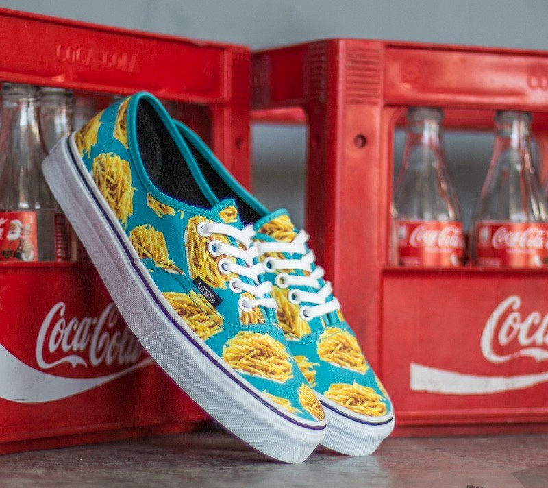 8da0950119 Vans Authentic Late Night Blue Atoll  Fries