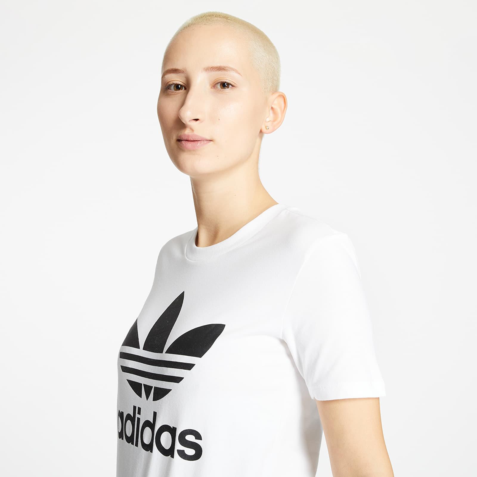 T-Shirts adidas Trefoil Tee White/ Black