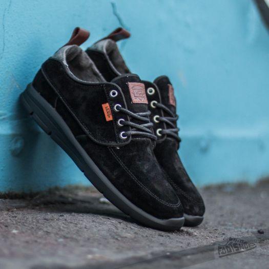 Vans Brigata Lite + Suede Black Chambray | Footshop
