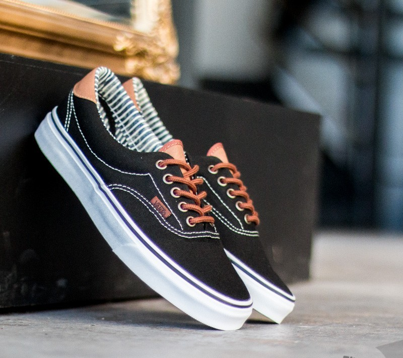 139458134d898e Vans Era 59 C L Black Stripe Denim