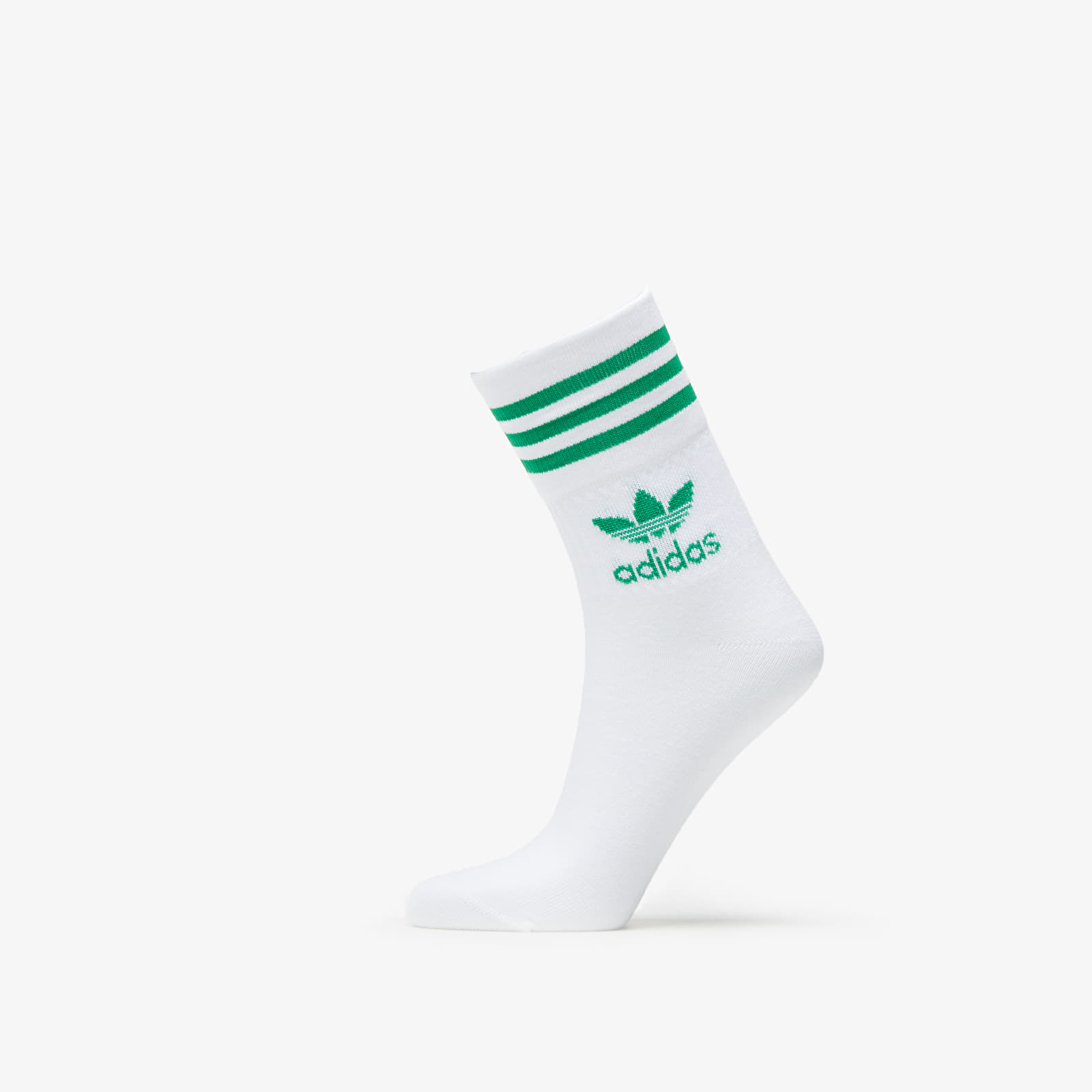 Chaussettes adidas Mid Cut Crew Socks (3-pack) White/ Scarle