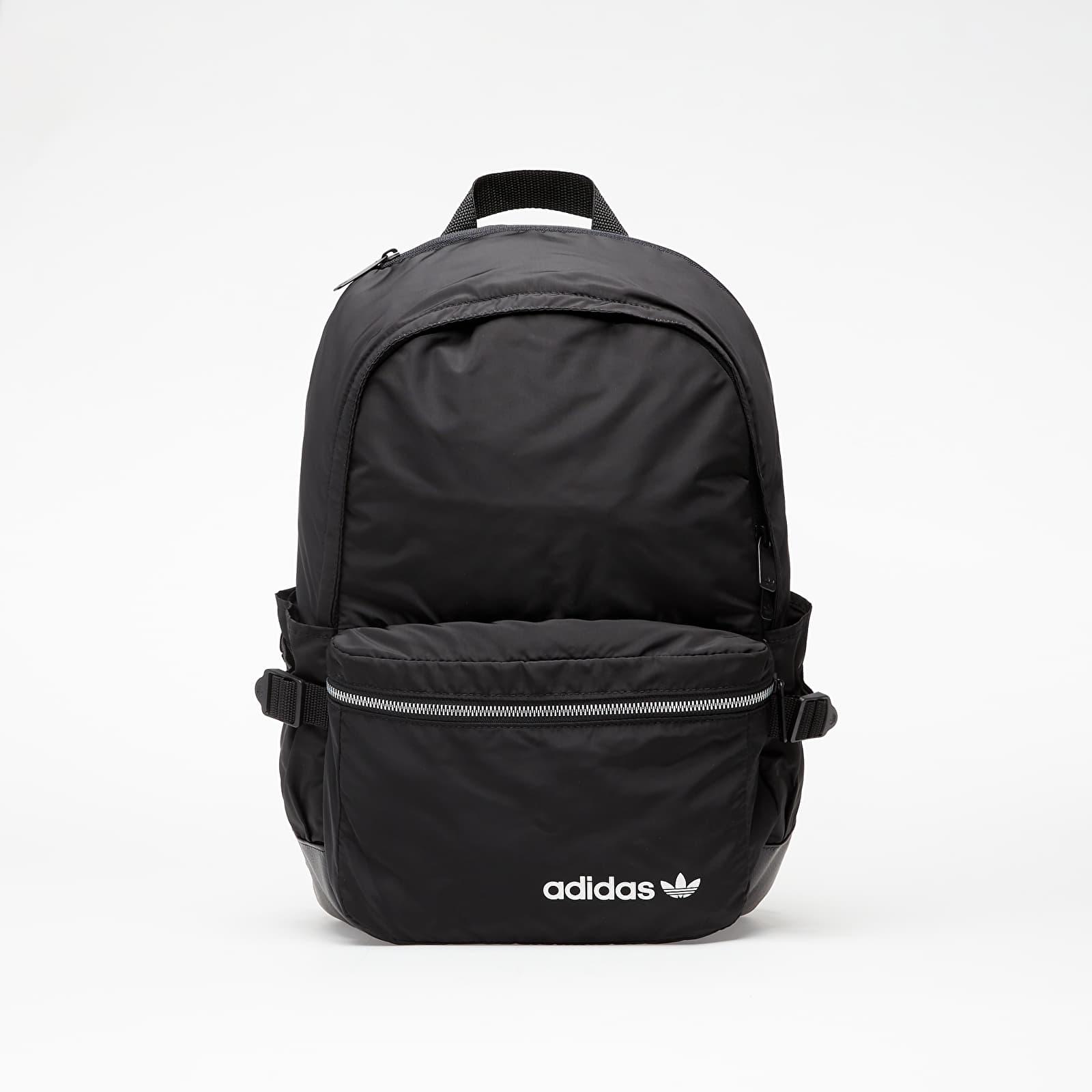 adidas Premium Essentials Modern Backpack Black/ White 24 litrů
