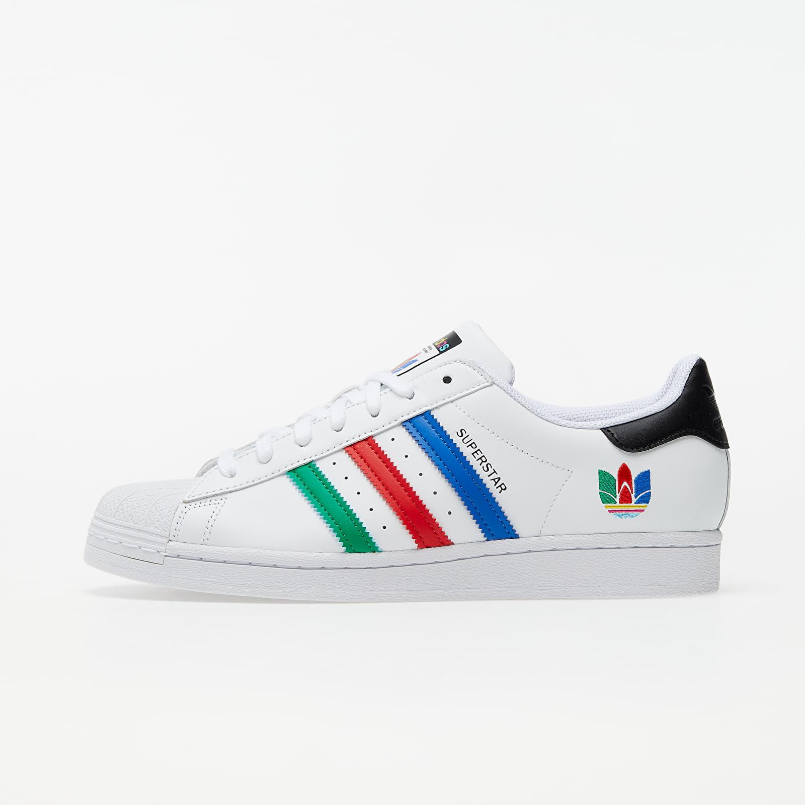 Men's shoes adidas Superstar Ftw White/ Green/ Core Black