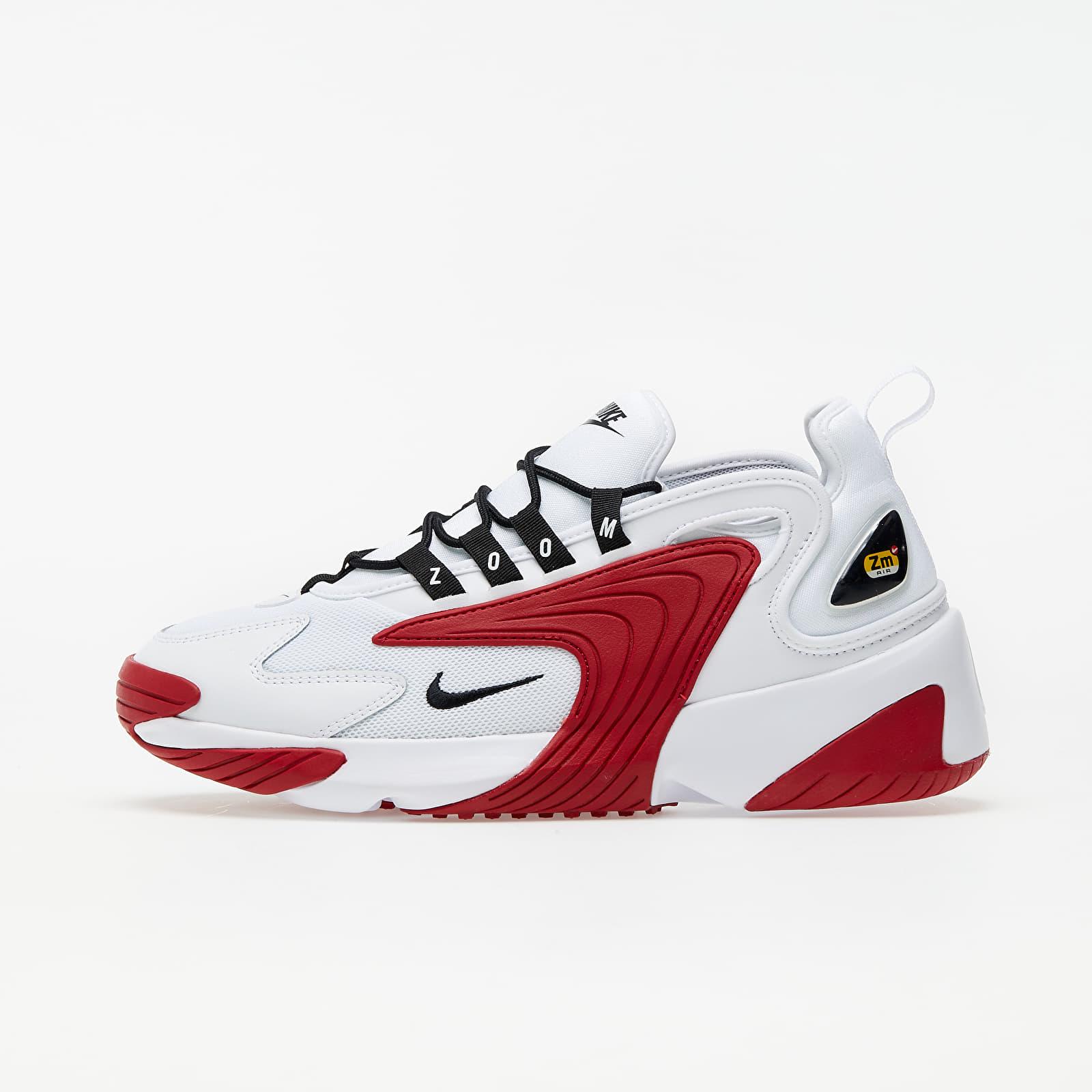 Nike Zoom 2K White/ Black-Gym Red-White EUR 44