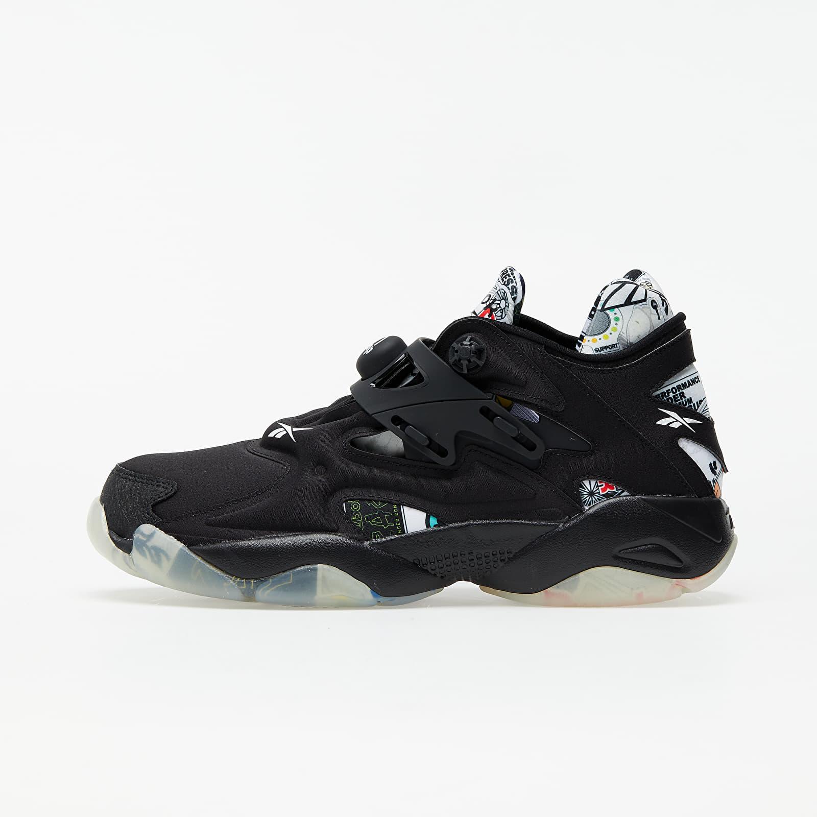 Încălțăminte și sneakerși pentru bărbați Reebok Pump Court Black/ Black/ Black