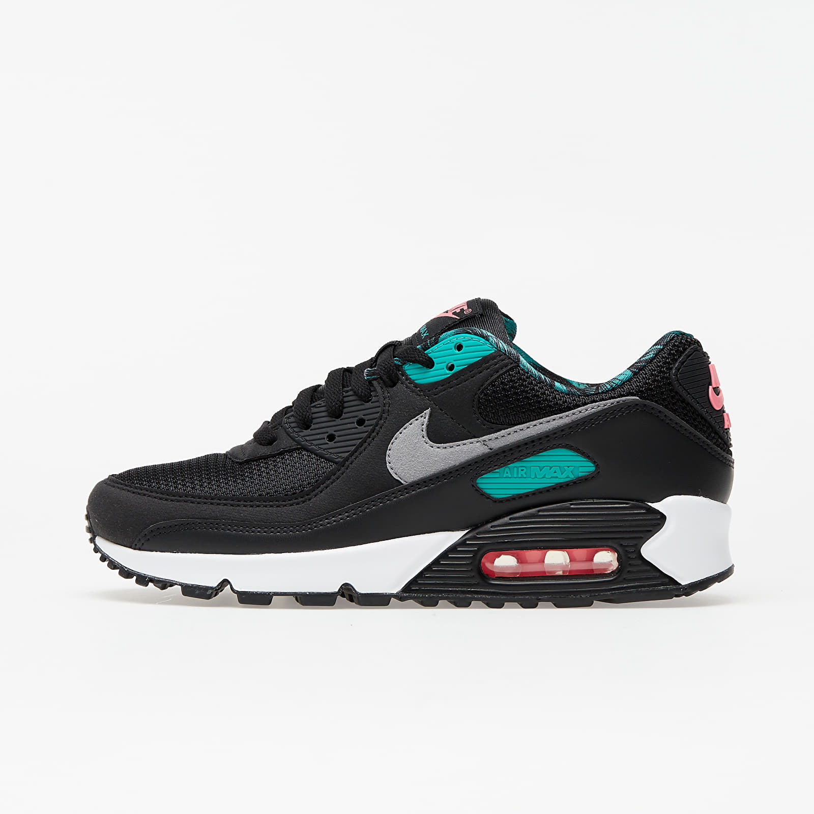 Nike Air Max 90 Cl Black/ Particle Grey-New Green-White EUR 41