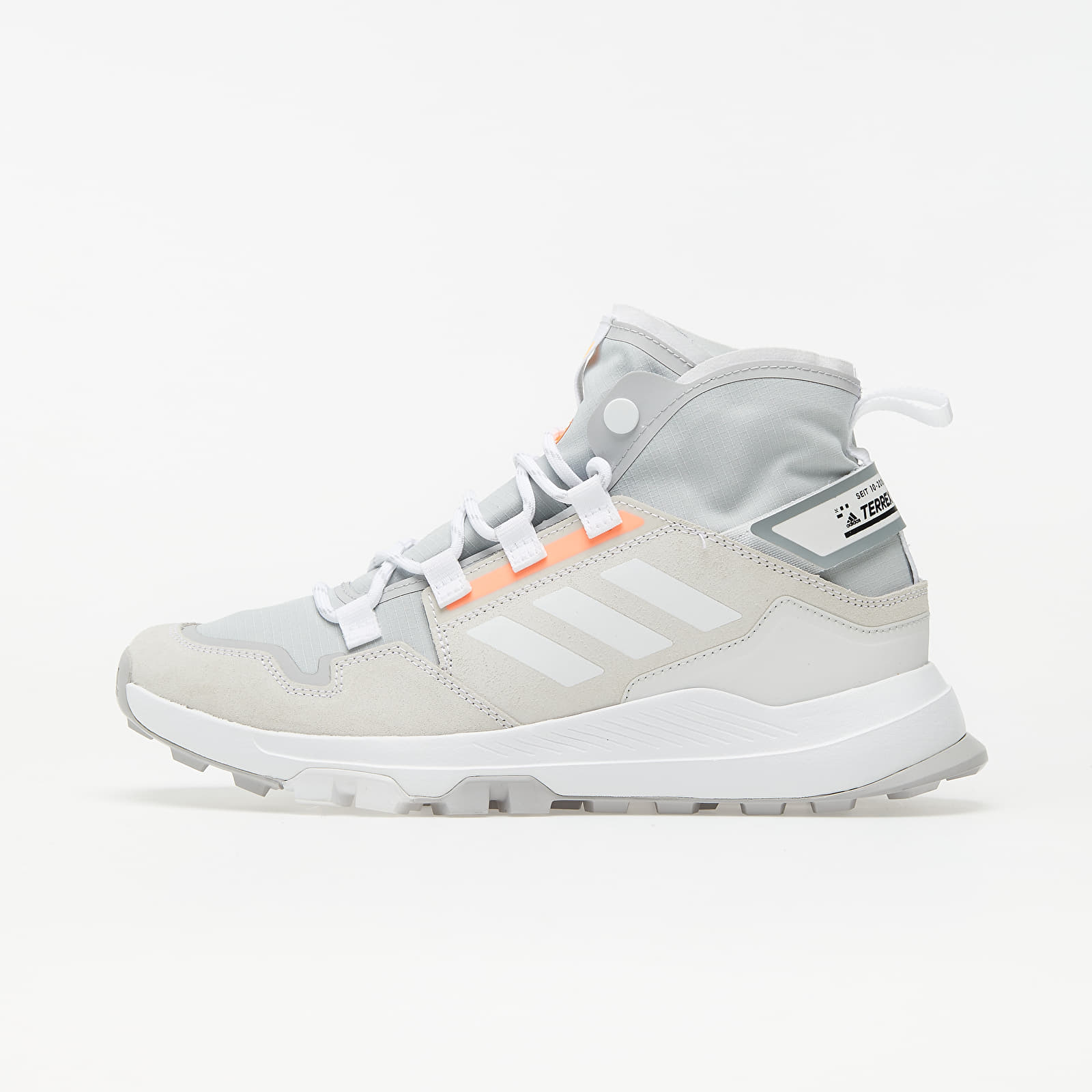 adidas Terrex Hikster Mid Grey Two/ Ftw White/ Signature Orange EUR 42