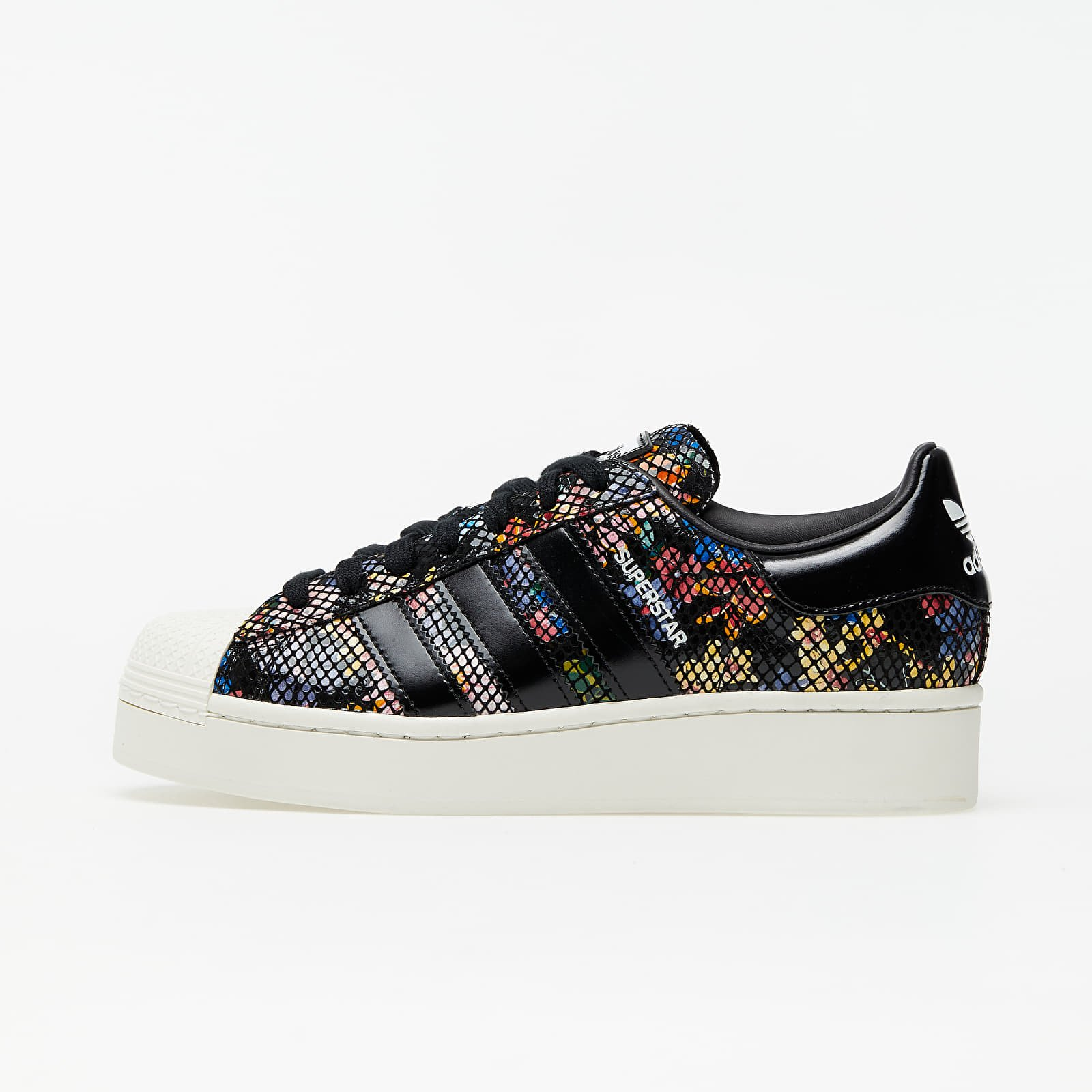 Buty damskie adidas Superstar Bold W Core Black/ Off White/ Red