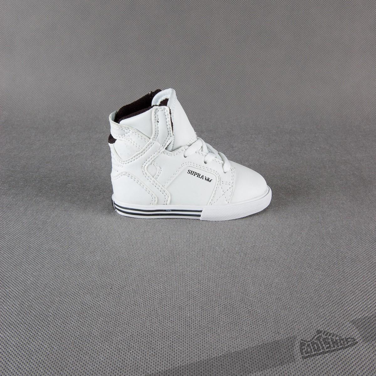 Dětské Supra Baby Skytop Chad Muska Pro Model White  0774fe3ddb8