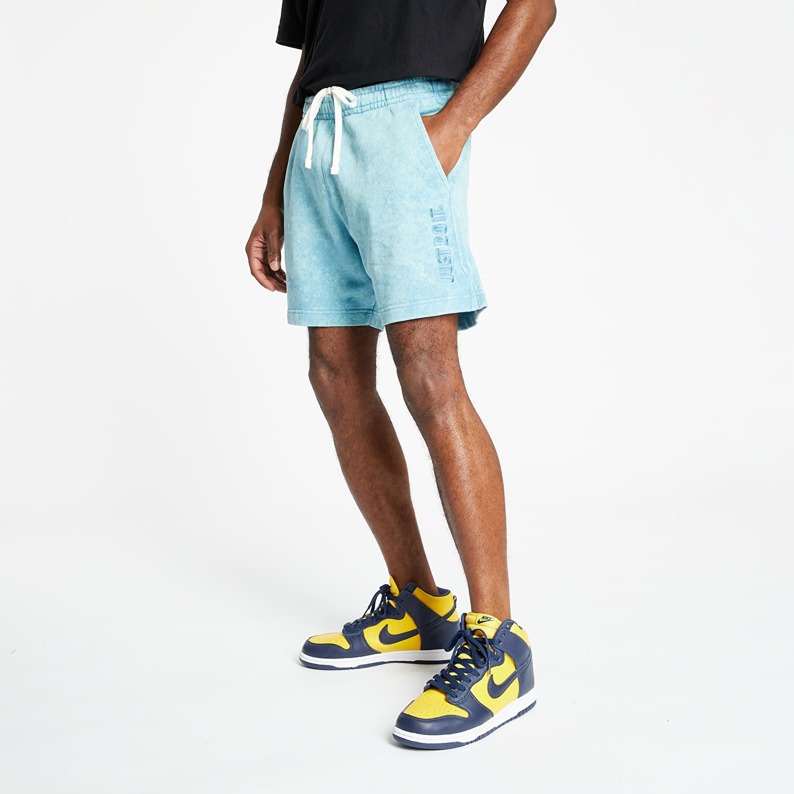 Nike Sportswear Just Do It Wash Shorts Cerulean/ Cerulean