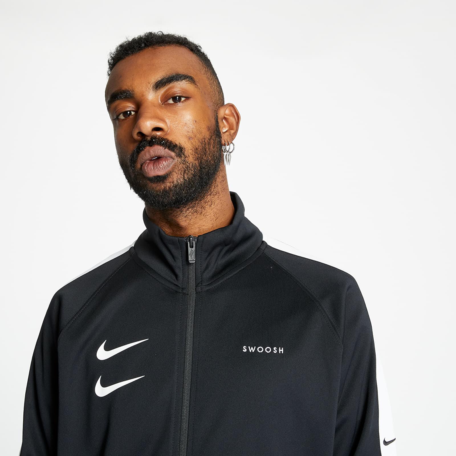 Nike Sportswear Swoosh Jacket Black/ White/ Black/ White EUR
