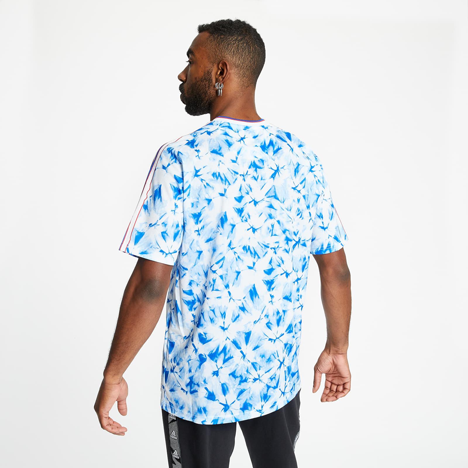 T-shirts adidas Manchester United Human Race Jersey White/ Bold Blue