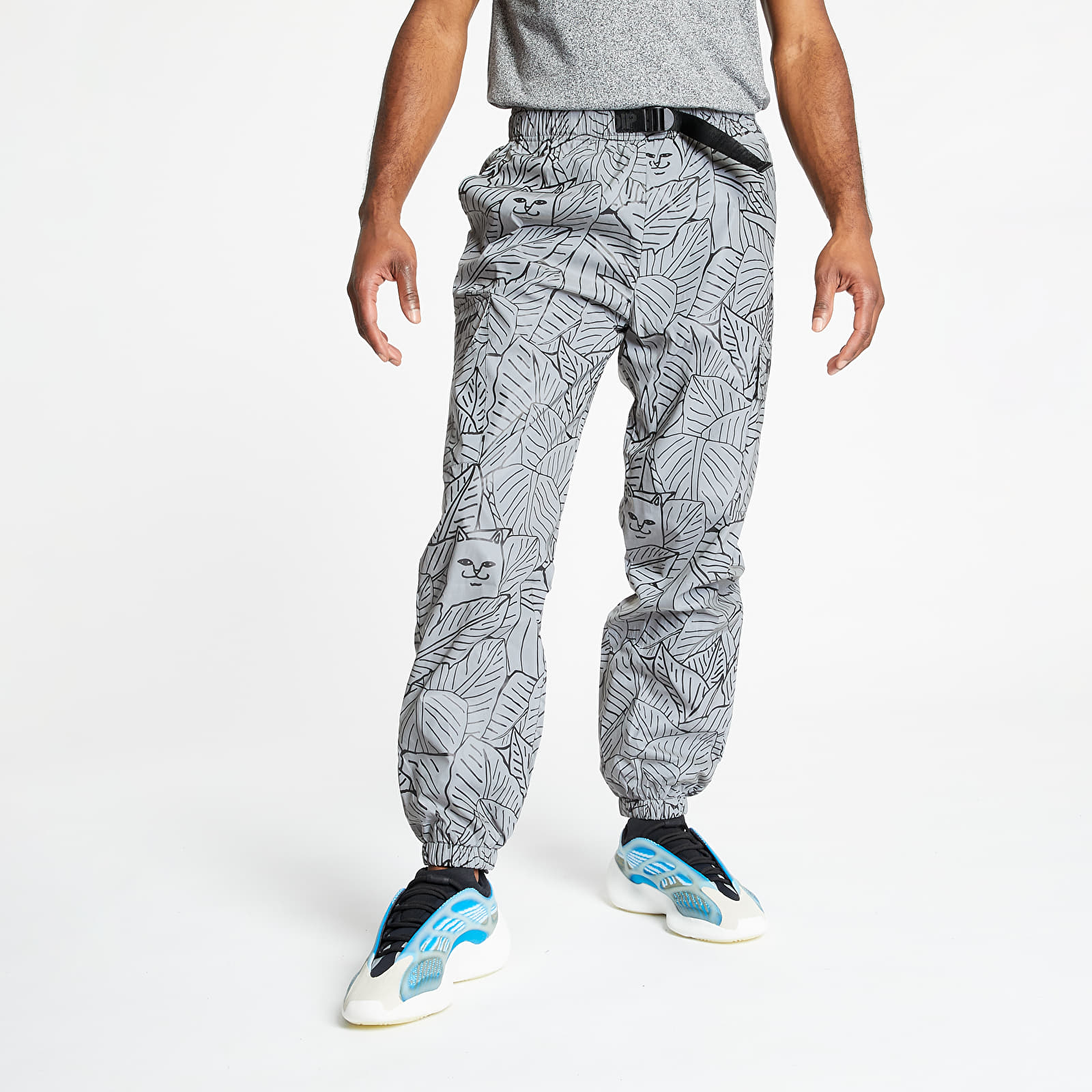 Pants and jeans RIPNDIP Nermal Leaf Cargo Pants Reflective