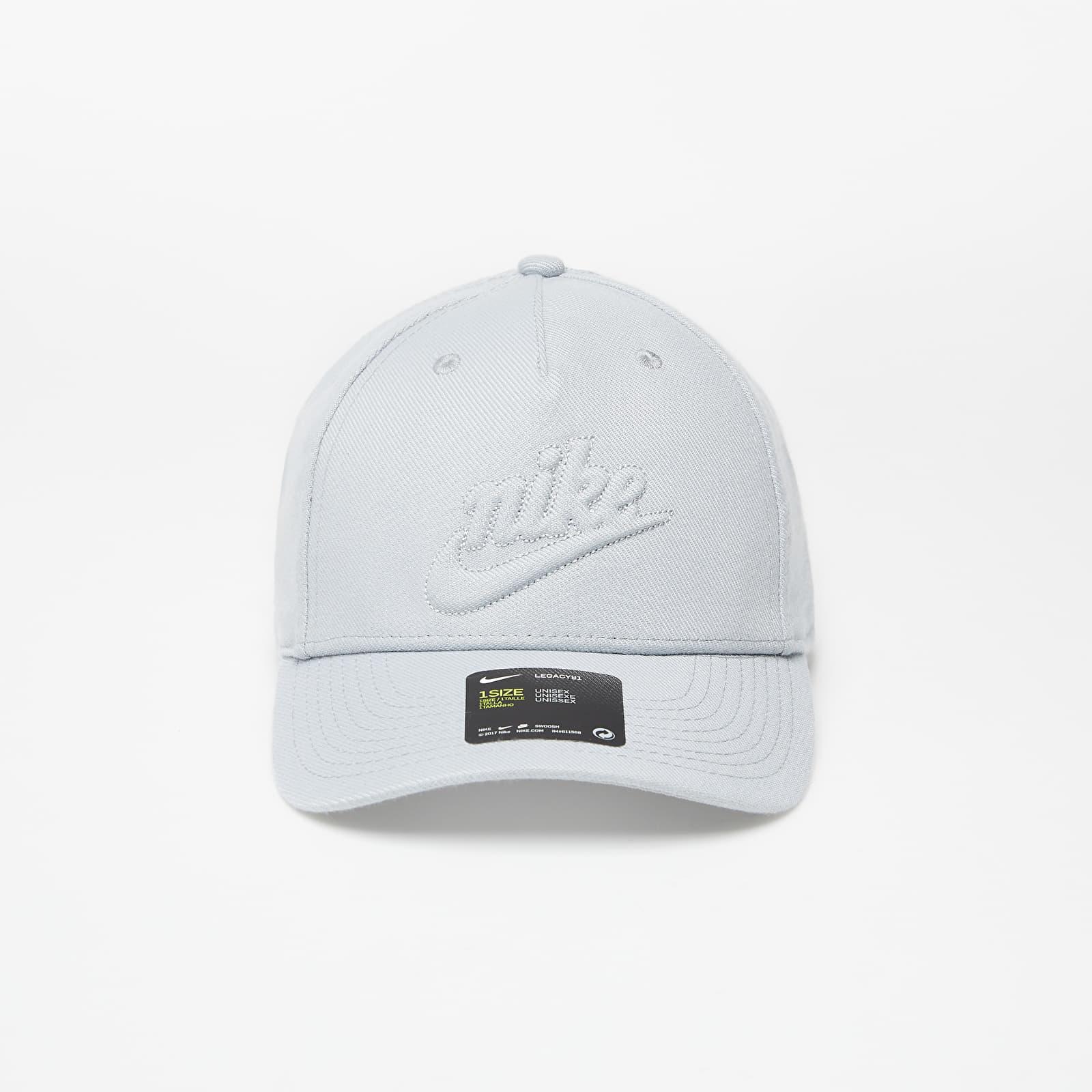 Caps Nike Sportswear L91 Cap Futura Hrtg Lt Smoke Grey