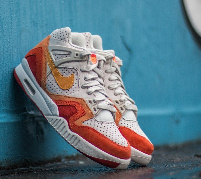 quality design 85906 88d82 Nike Air Tech Challenge II QS Light Brown Laser Orange-Cinnabar-Summit  White