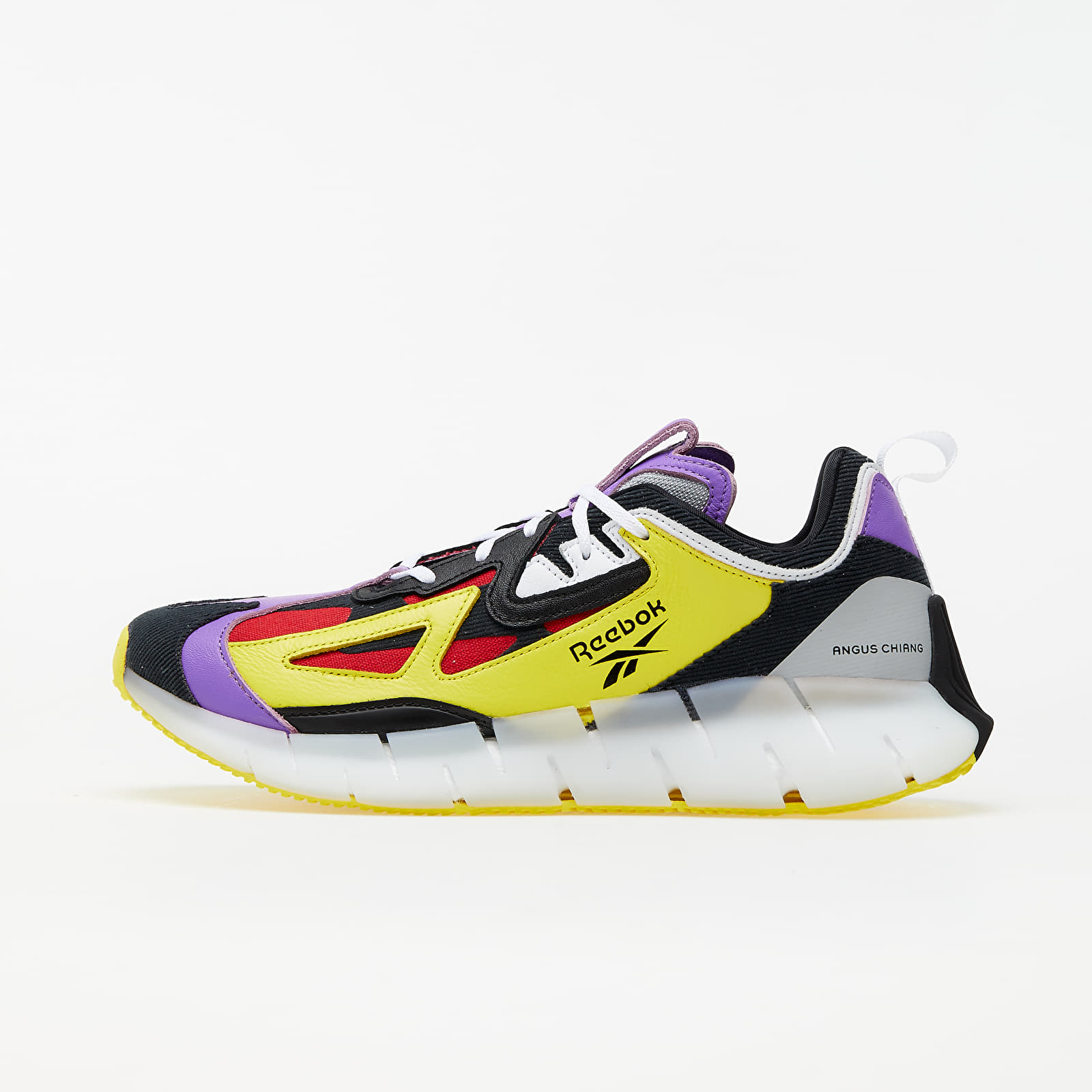 Men's shoes Reebok Zig Kinetica Concept Pigment Purple/ Bright Yellow/ Black