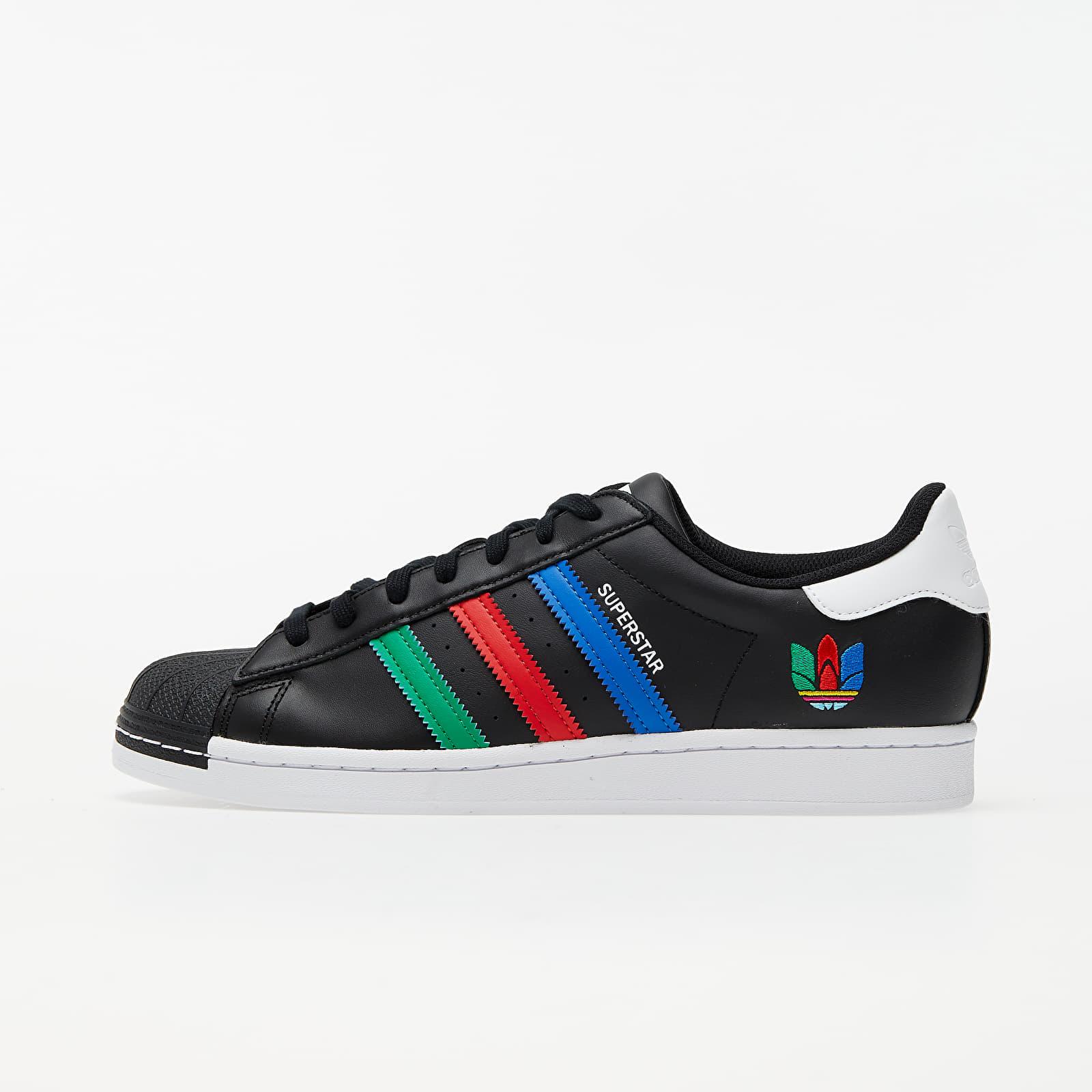 Men's shoes adidas Superstar Core Black/ Green/ Ftw White