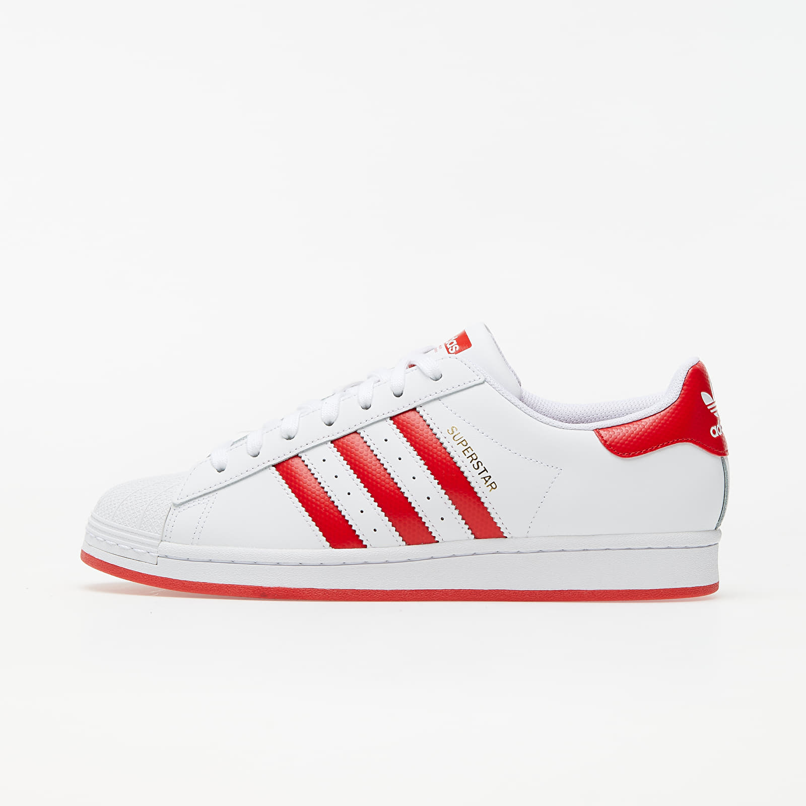 adidas Superstar Ftw White/ Lust Red/ Gold Metalic EUR 43 1/3