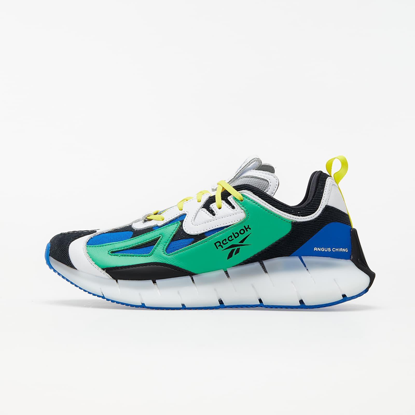 Men's shoes Reebok Zig Kinetica Concept Bot Green/ White/ Bright Yellow